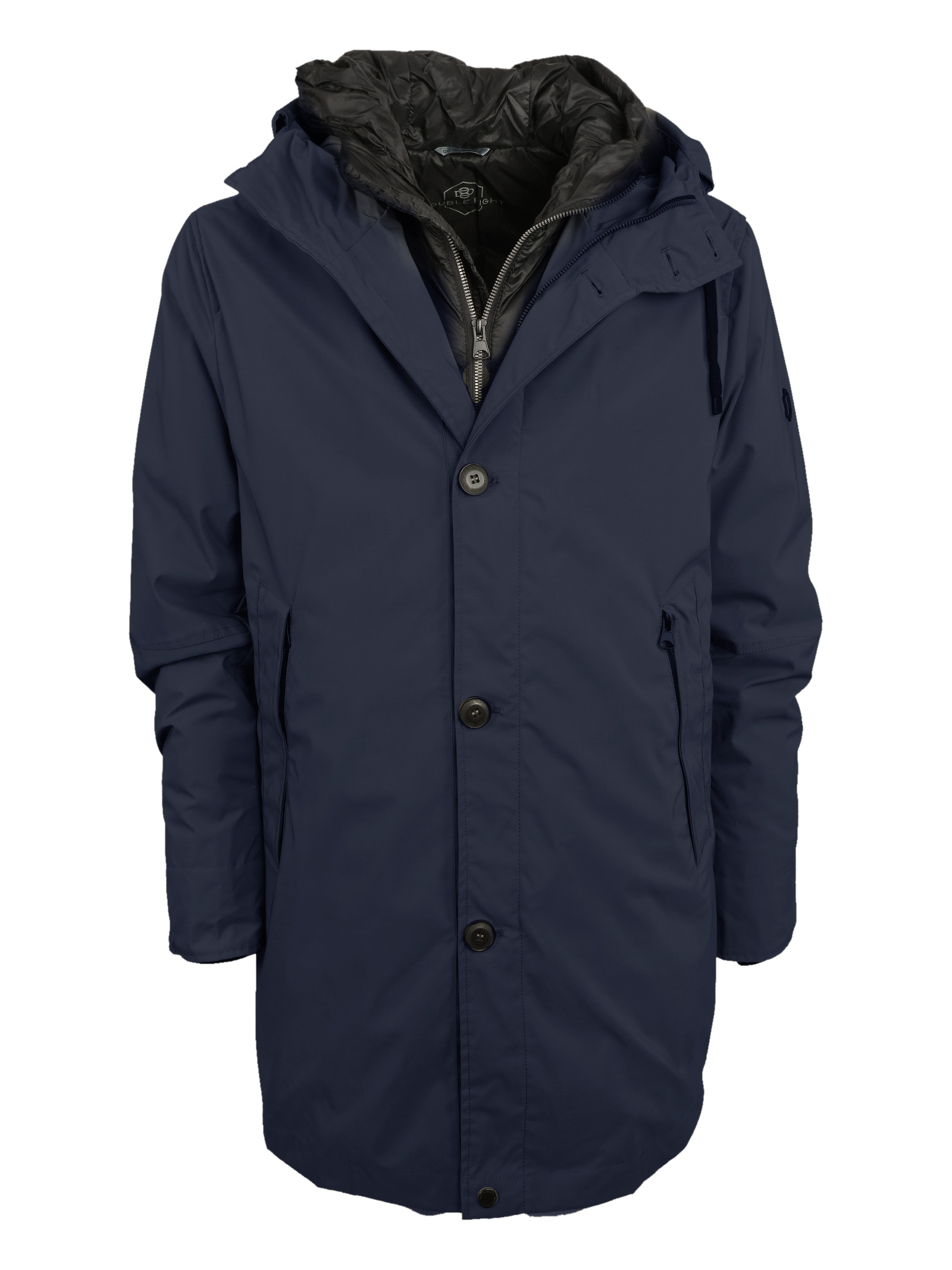 Long double jacket, DOUBLE 8 | Jackets | GERM P186B148