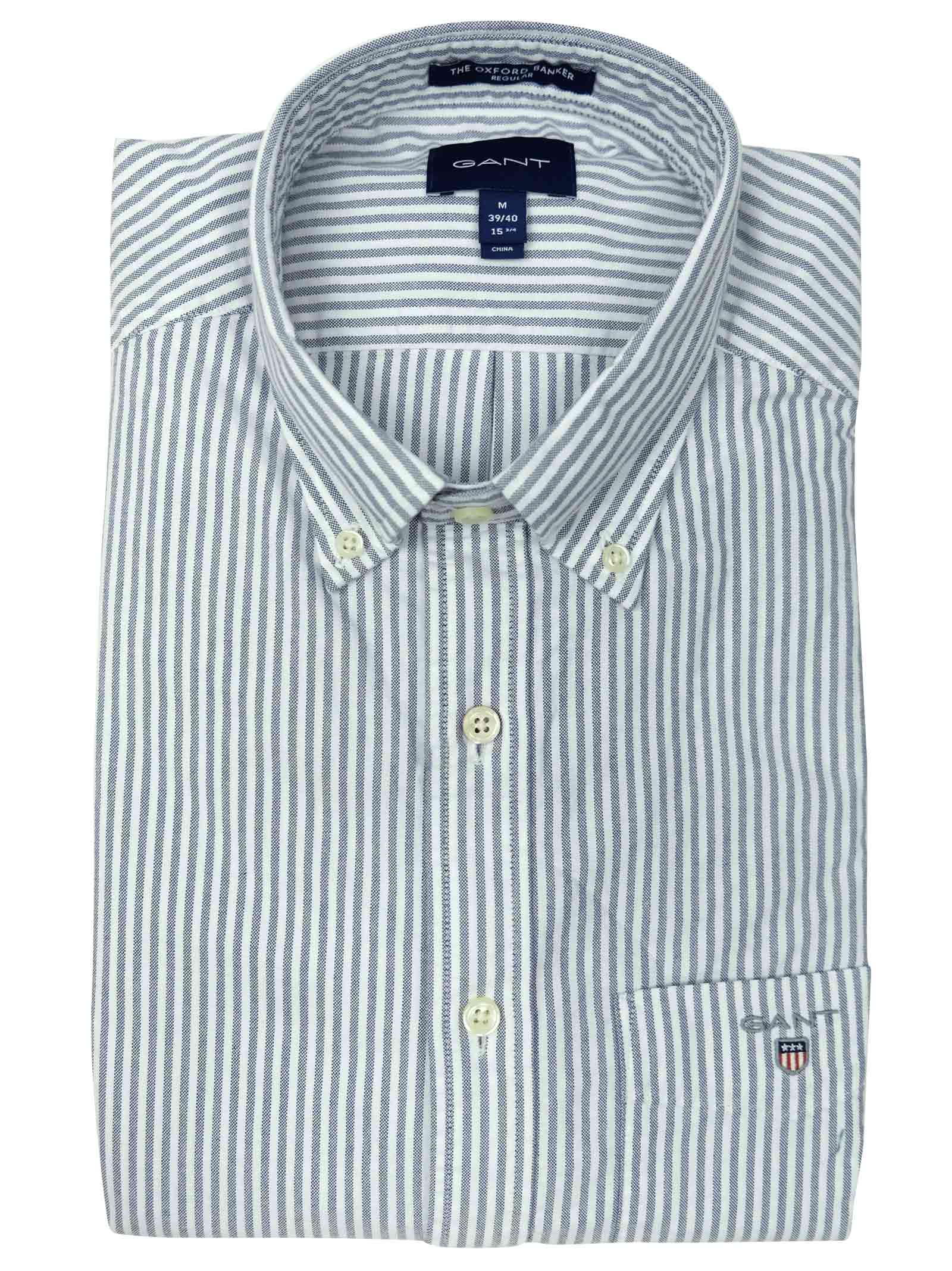 camicia oxford button down GANT | Camicie | 3056700423