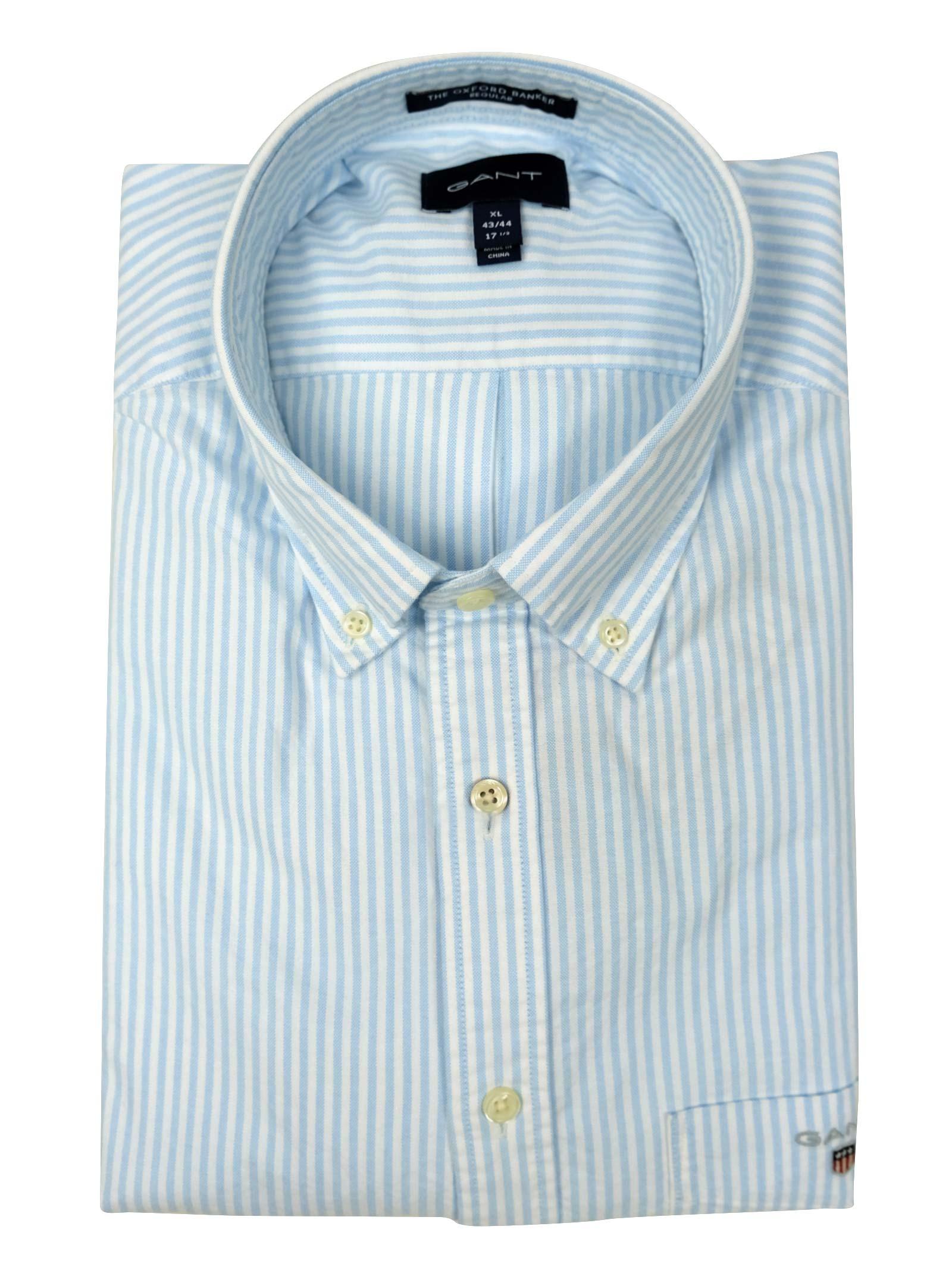 camicia oxford button down GANT | Camicie | 3056700468