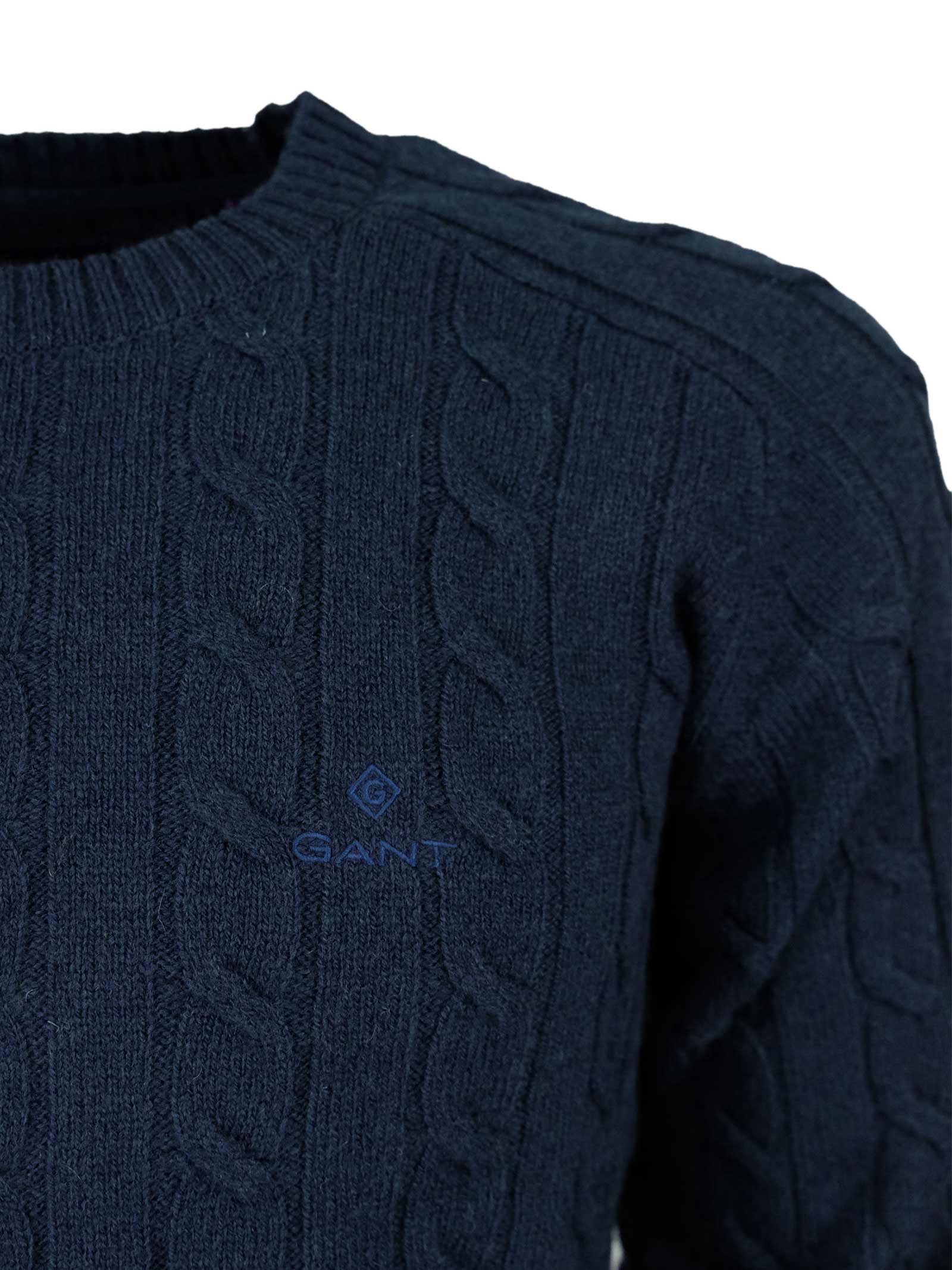 ROUNDNECK PULLOVER GANT | Knitwear | 8050076433