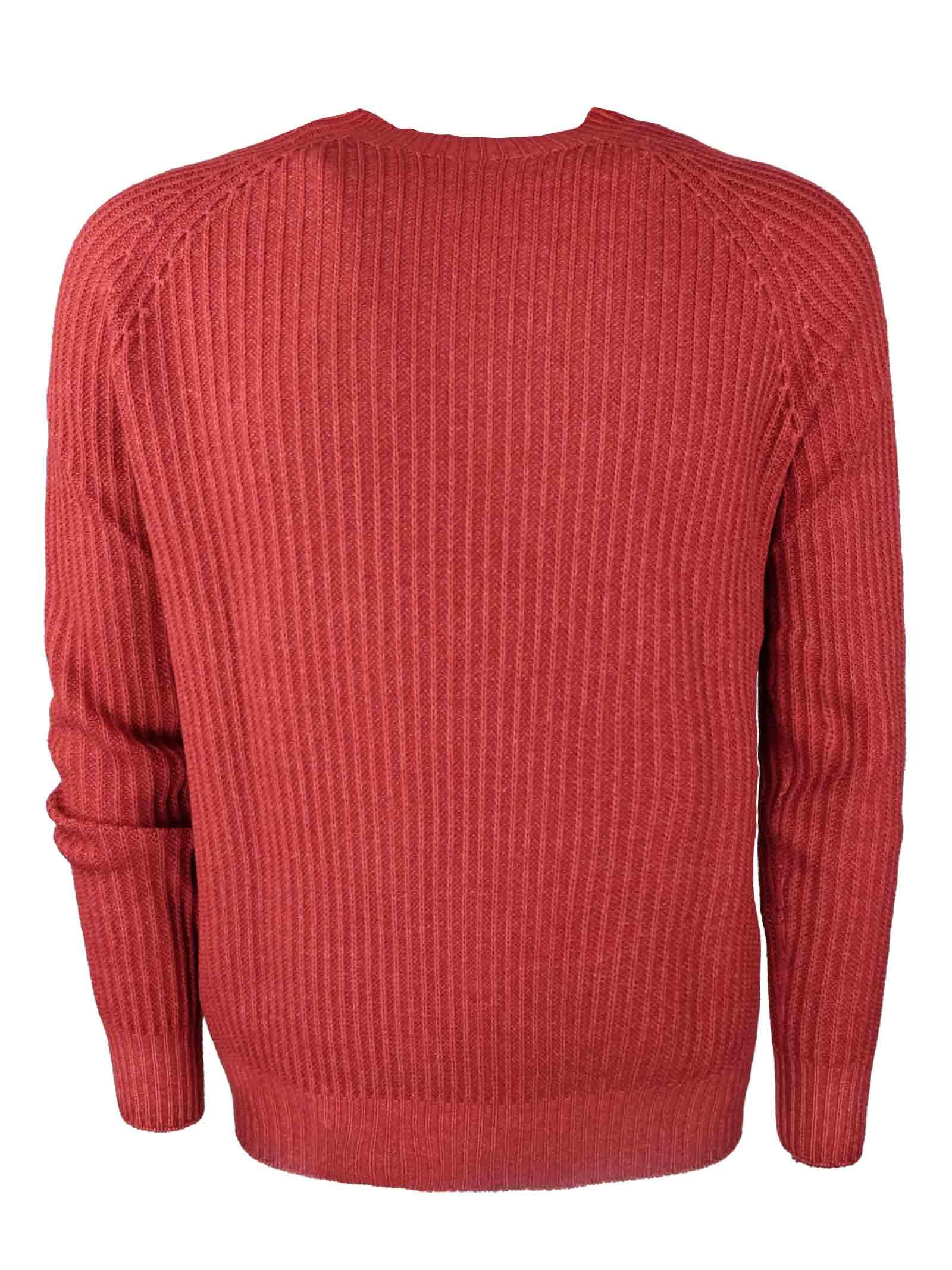 Pullover girocollo in lana merino H953 | Maglieria | 294250