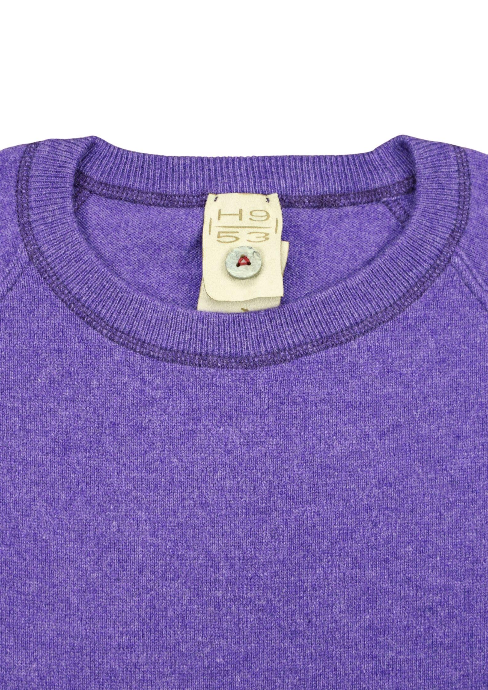 Pullover in cashmere modello felpa H953 | Maglieria | 299664