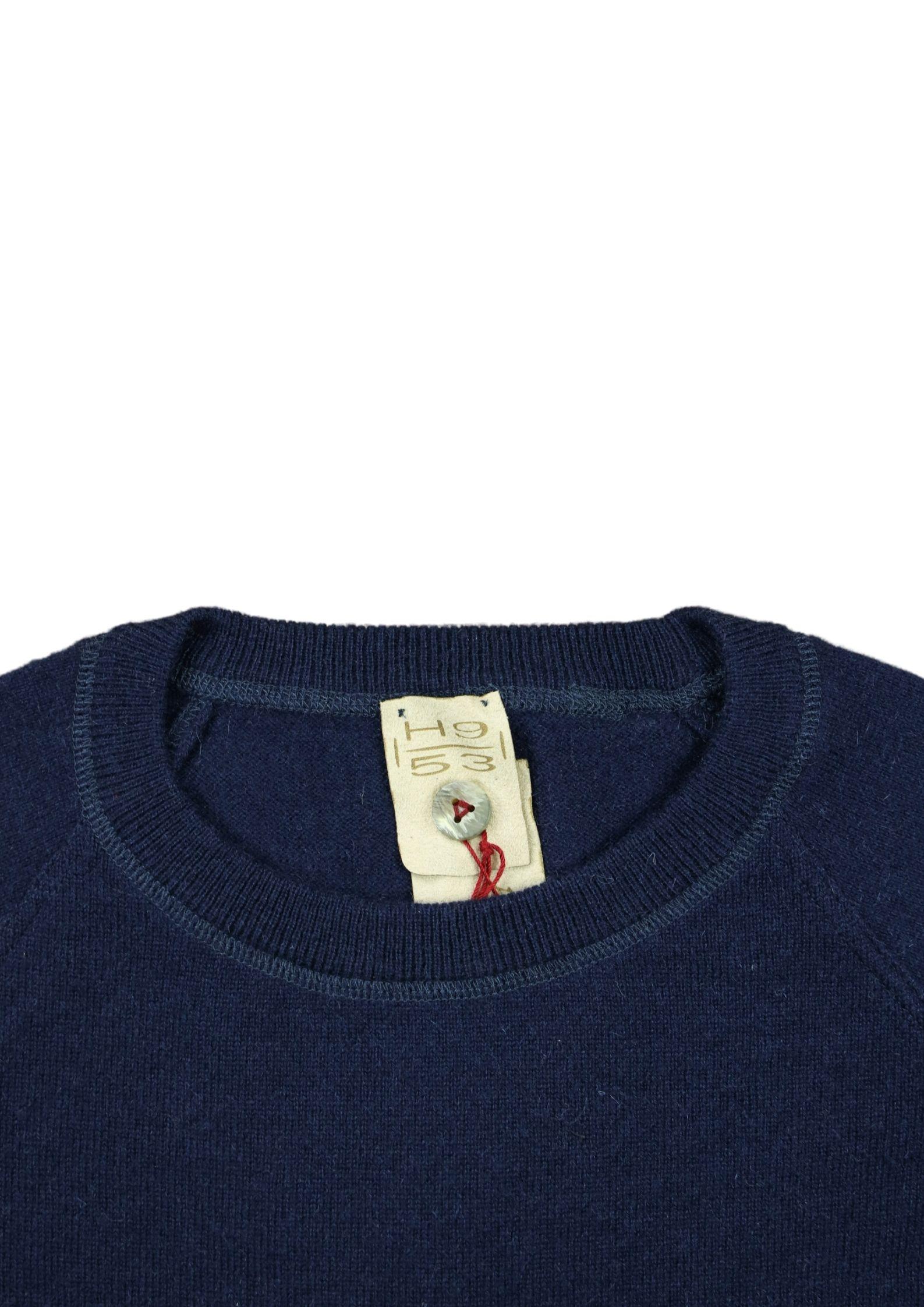 Pullover in cashmere modello felpa H953 | Maglieria | 299690