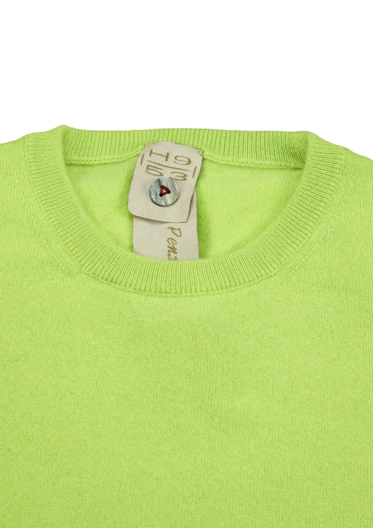 Pullover girocollo in cashmere 100%  due fili H953 | Maglieria | 299720