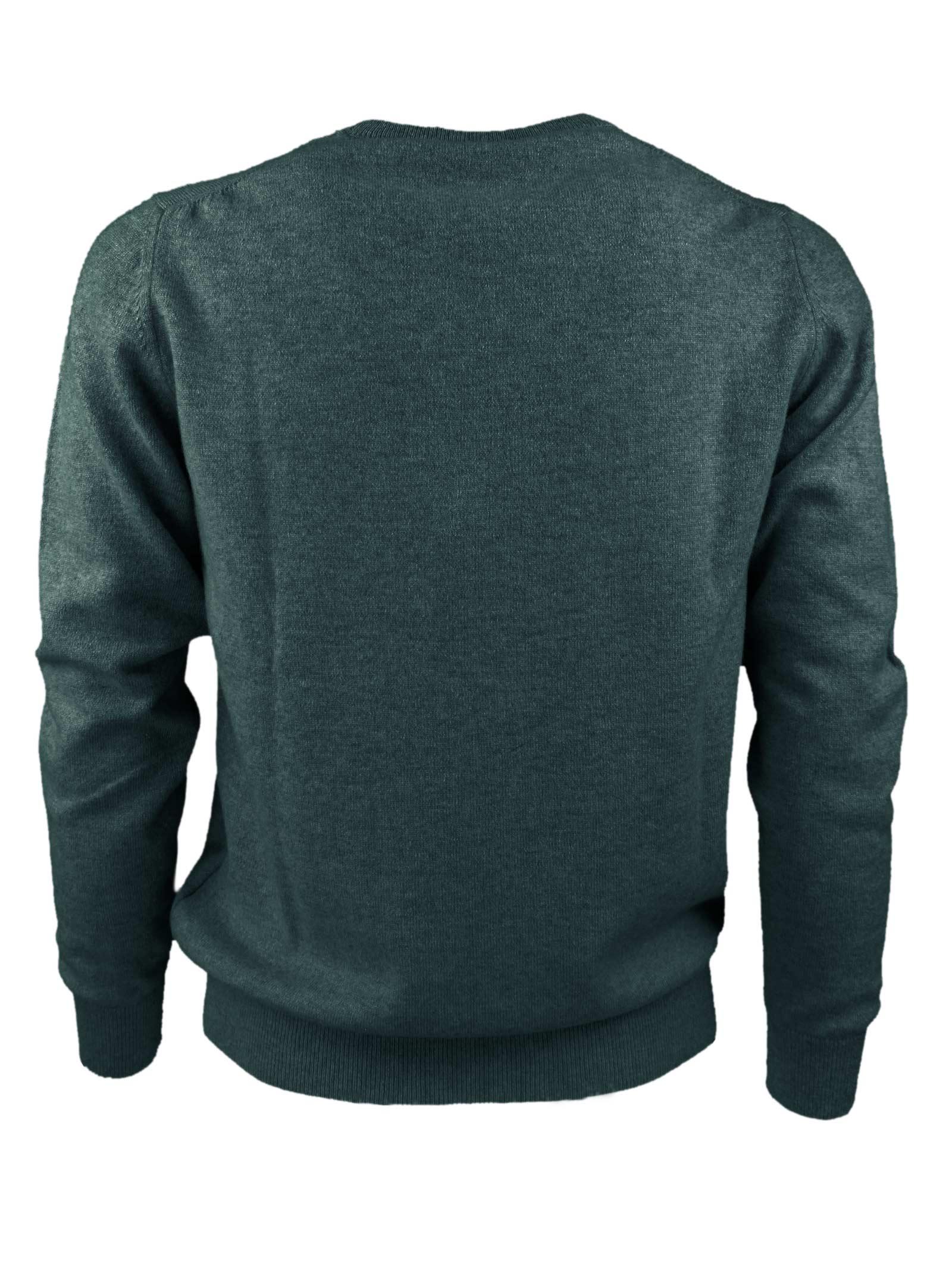 Pullover girocollo in cashmere 100%  due fili H953   Maglieria   299725