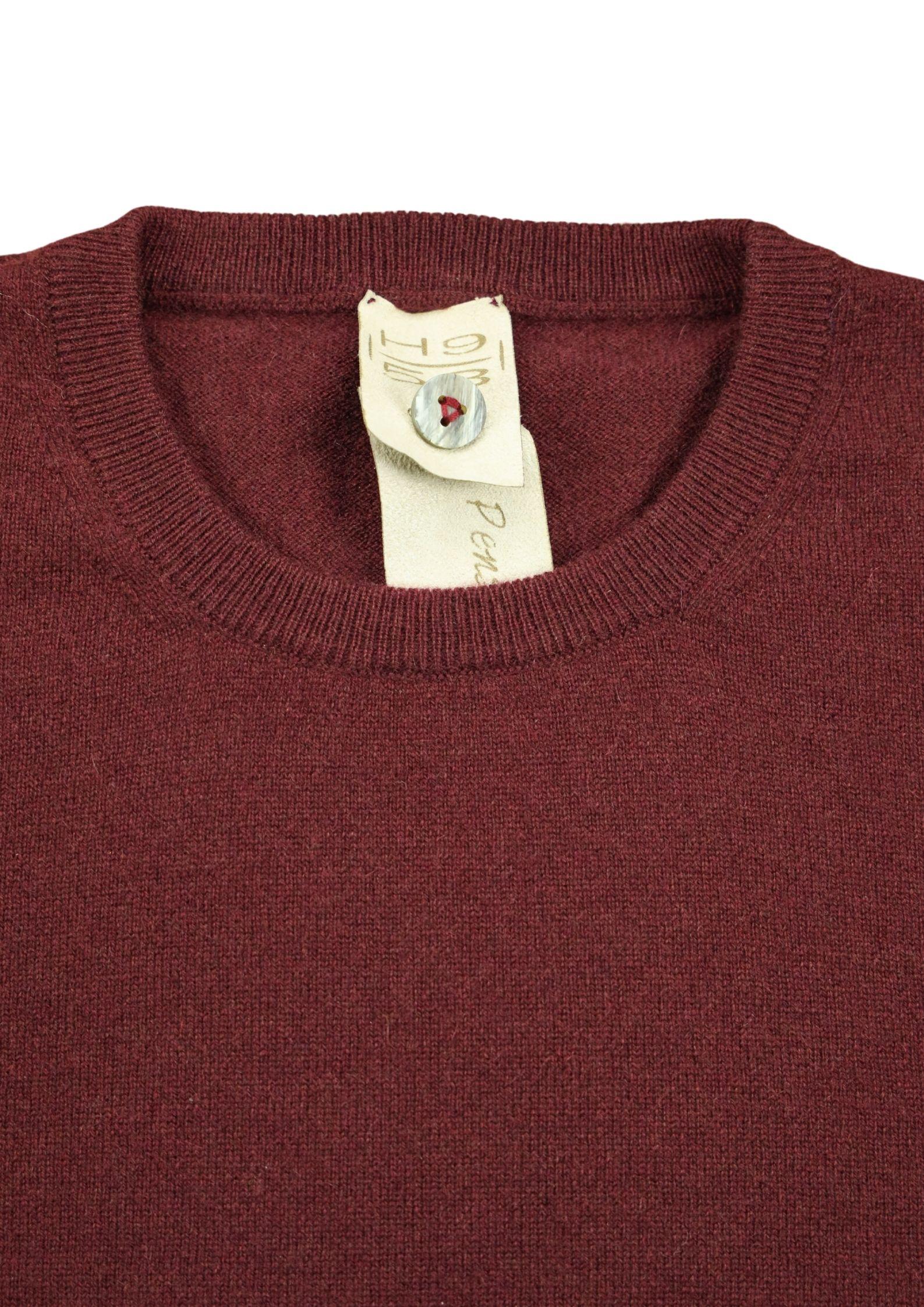 Pullover girocollo in cashmere 100%  due fili H953 | Maglieria | 299751
