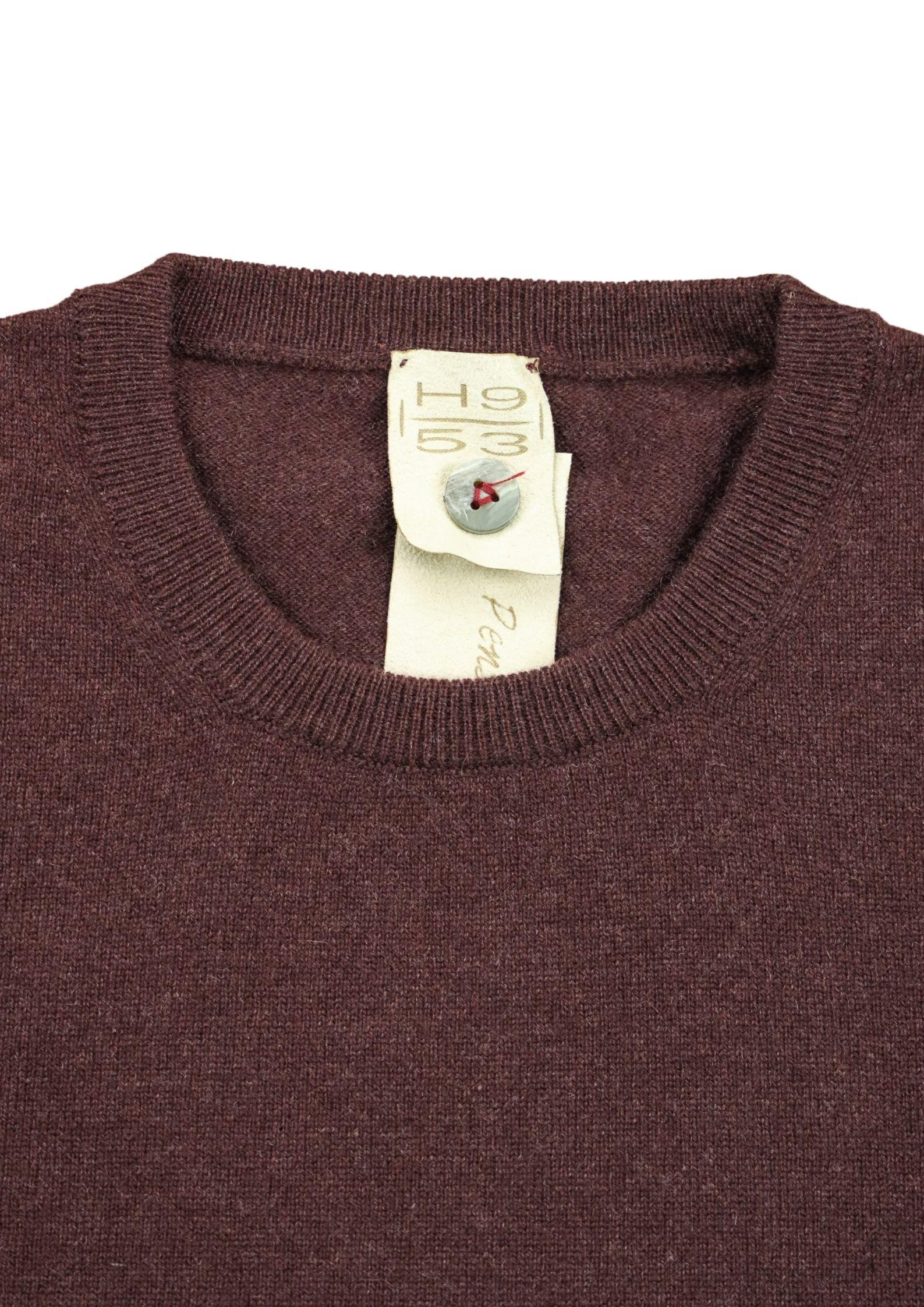 Pullover girocollo in cashmere 100%  due fili H953 | Maglieria | 299752