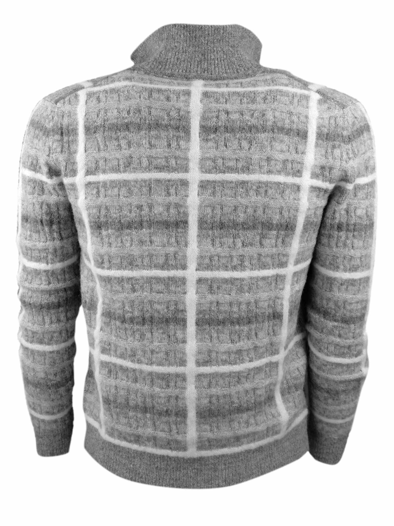 WOOL ZIP CARDIGAN H953 | Knitwear | 302902