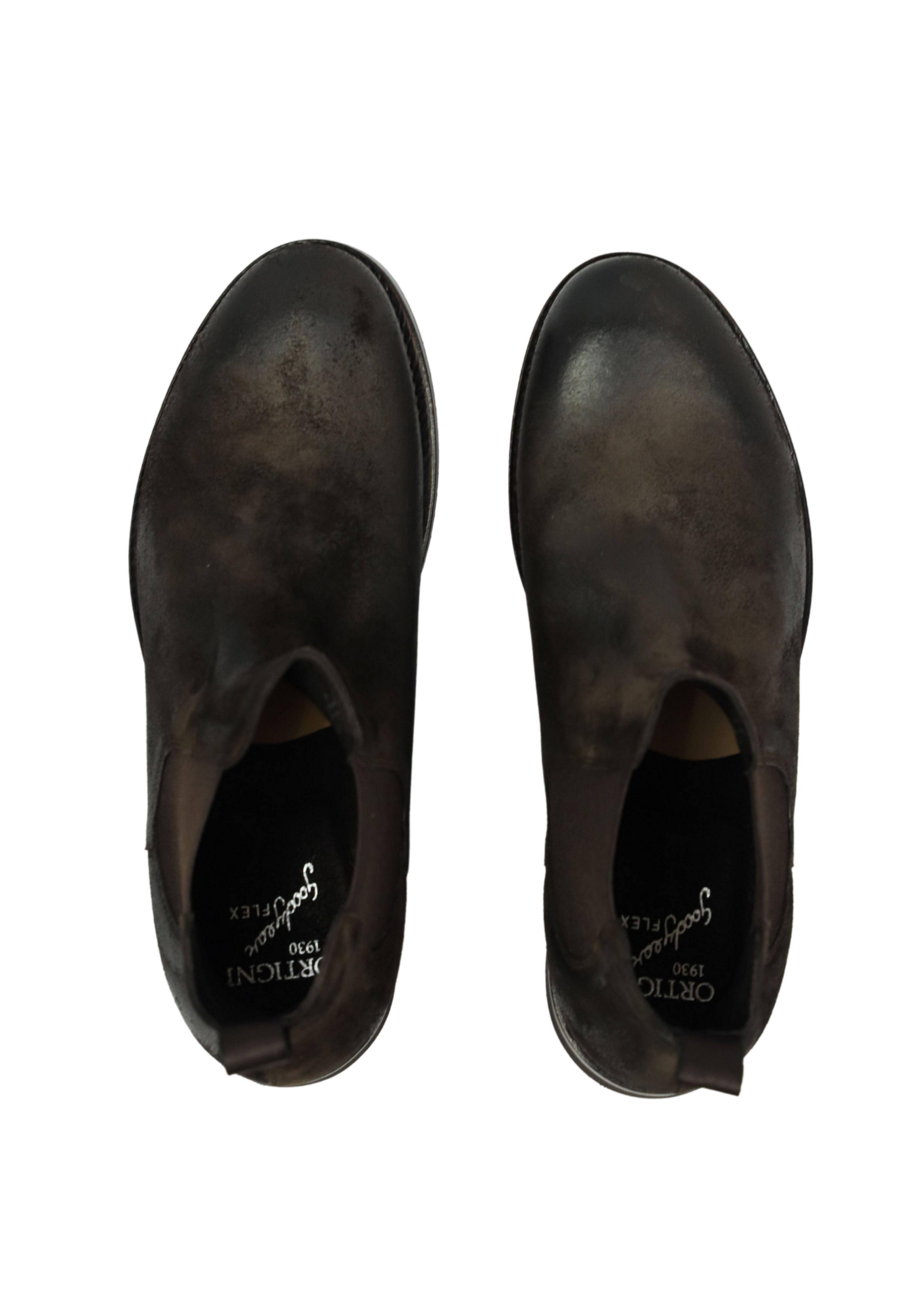 WAXED SUEDE  BEATLE SHOES ORTIGNI | Shoes | 0426 051 GUPEPE