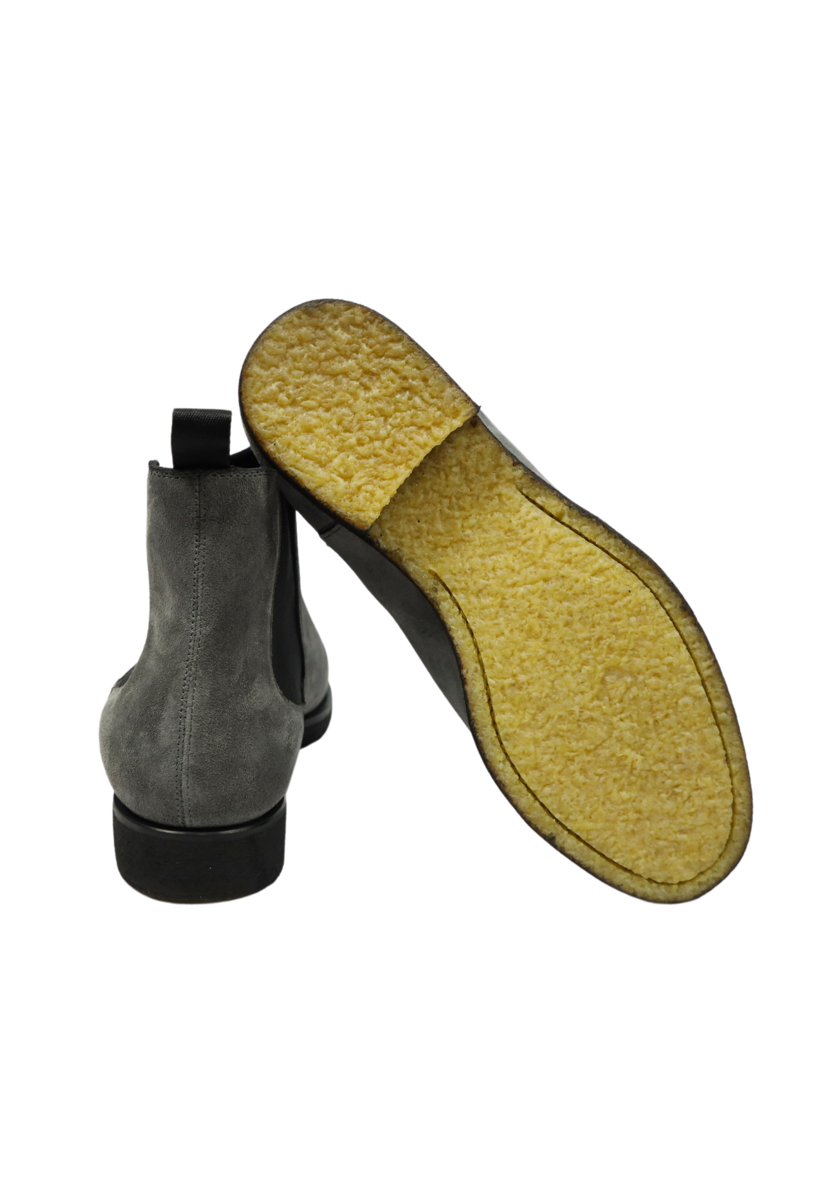 SUEDE  BEATLE SHOES ORTIGNI   Scarpe   0426 K BLACKANTRACITE