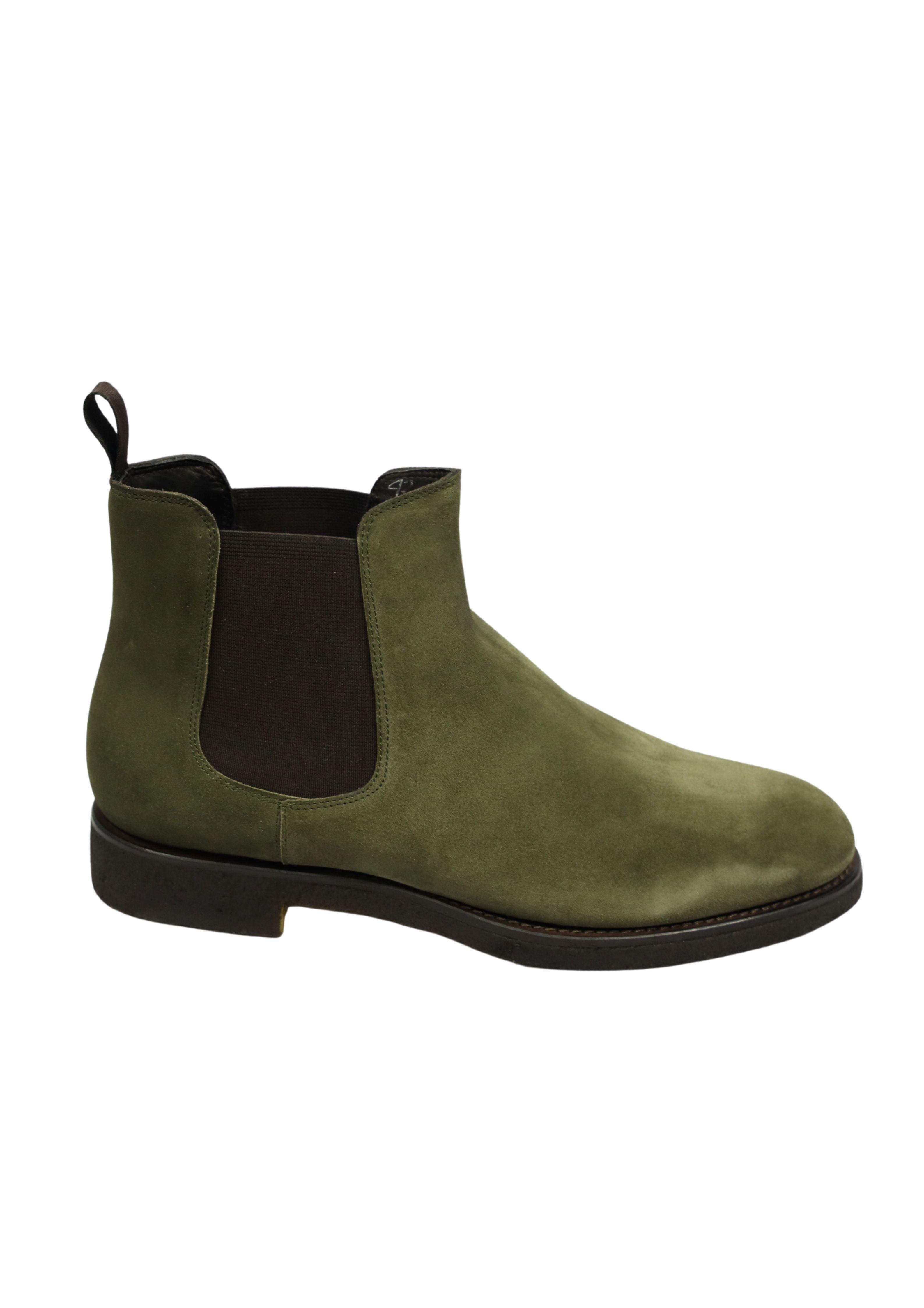 SUEDE  BEATLE SHOES ORTIGNI | Shoes | 0426 K BLACKELEPHANT