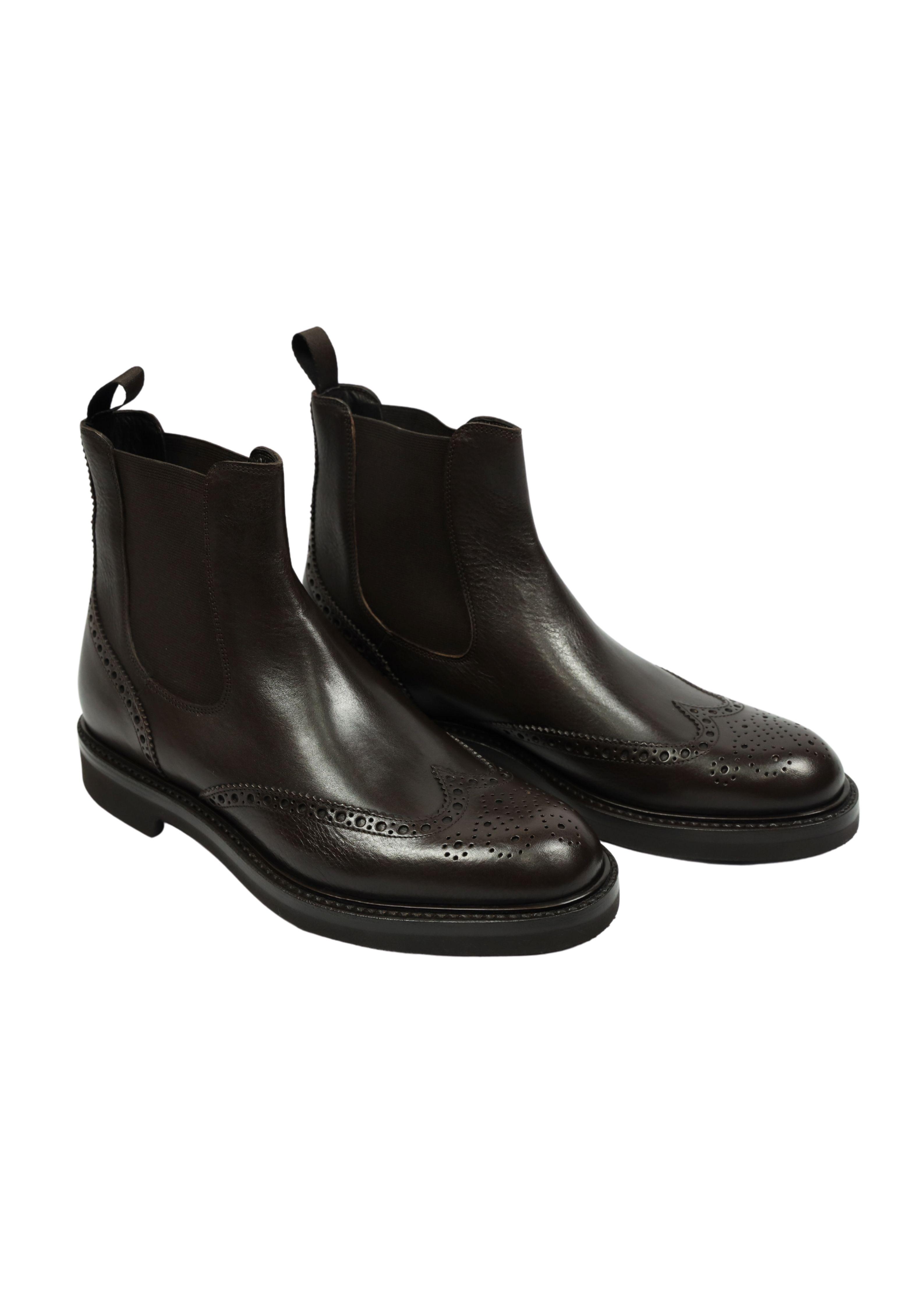 LEATHER BOOTS ORTIGNI | Shoes | 5823 595 BLACKMORO