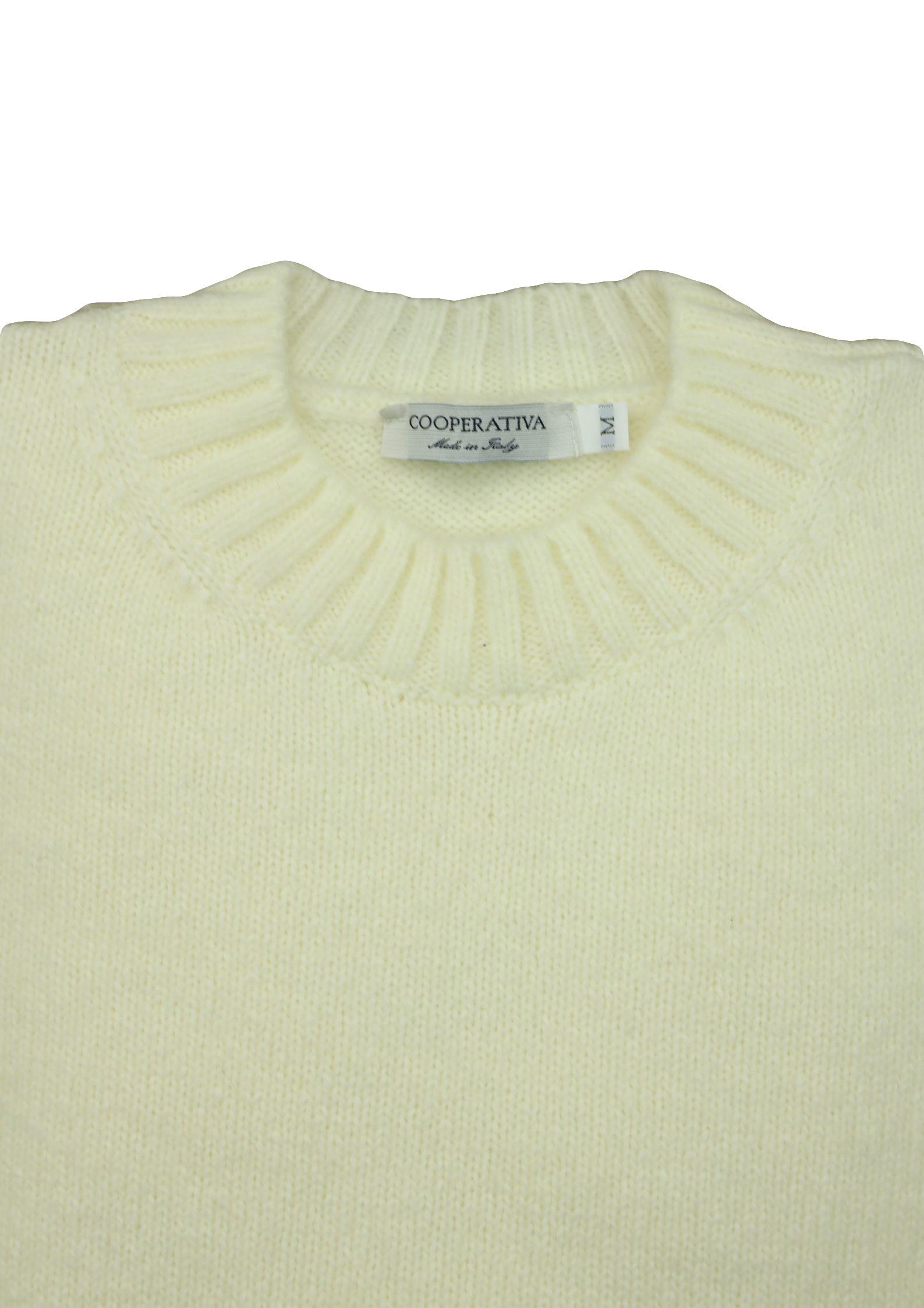 maglia girocollo in lana/cashmere 3 fili Pescatori Posillipo | Maglieria | 638OTTICO