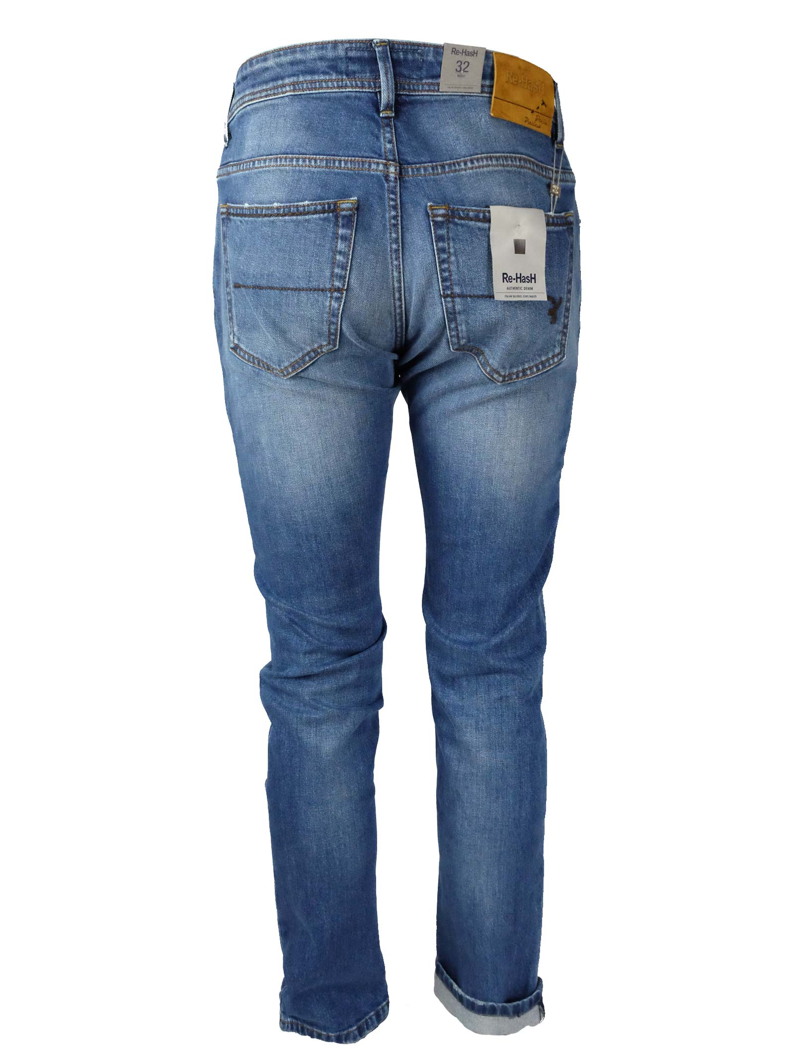JEANS 11 OZ. Re-HasH | Pantaloni | HOPPER 2658 Z313924BLUE