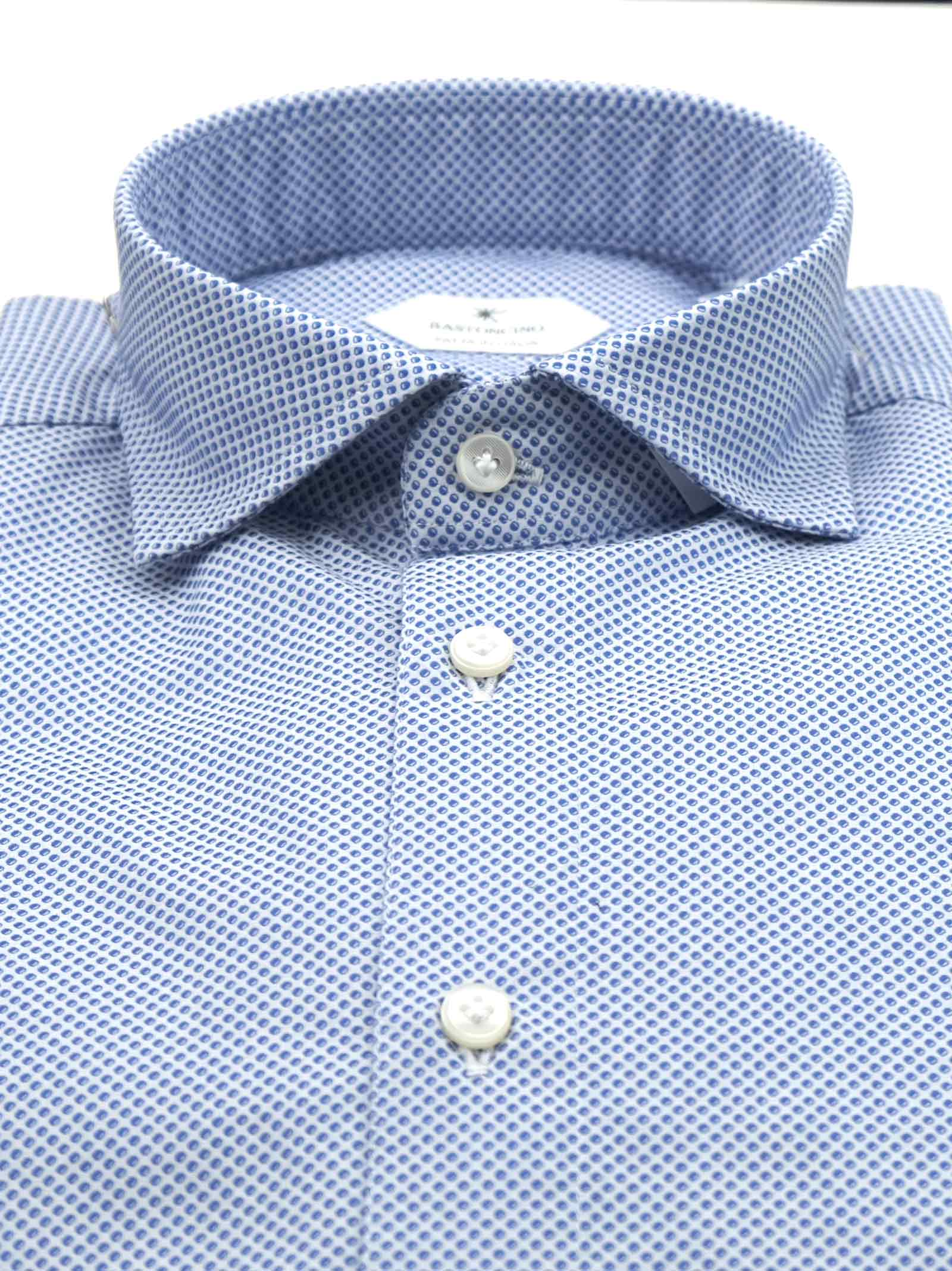 Camicia fantasia vestibilita regular BASTONCINO | Camicie | SARTB1965 03