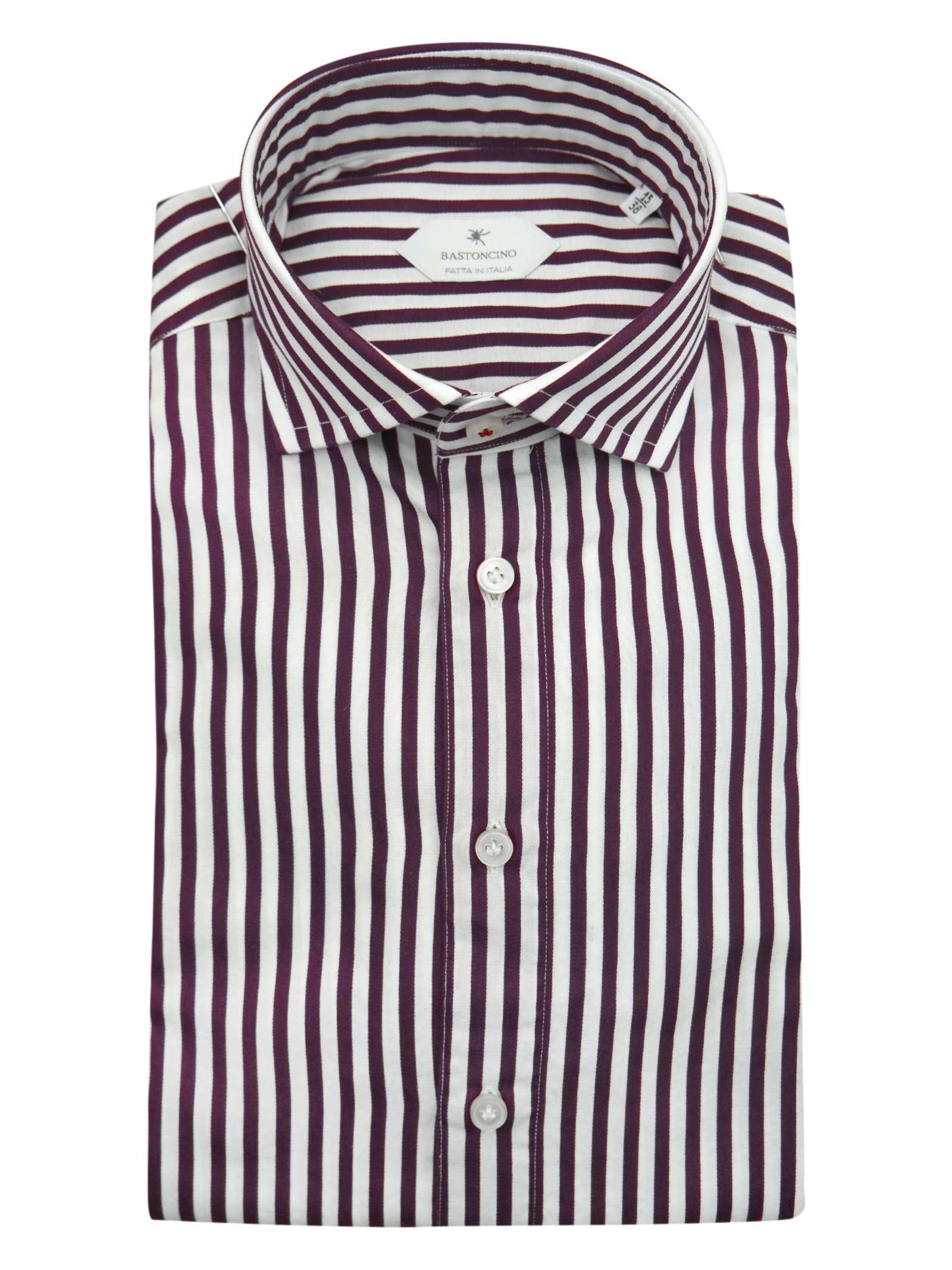 Camicia fantasia vestibilita regular BASTONCINO   Camicie   SARTB1996 03