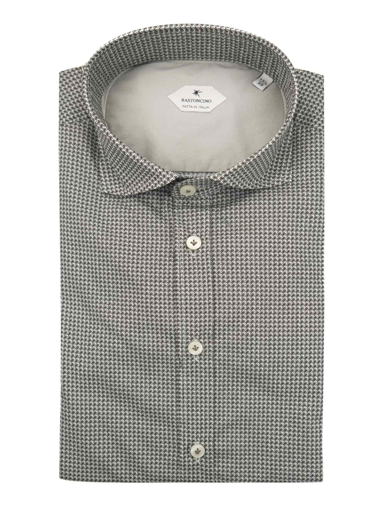 Camicia fantasia vestibilita regular BASTONCINO | Camicie | SARTB1998