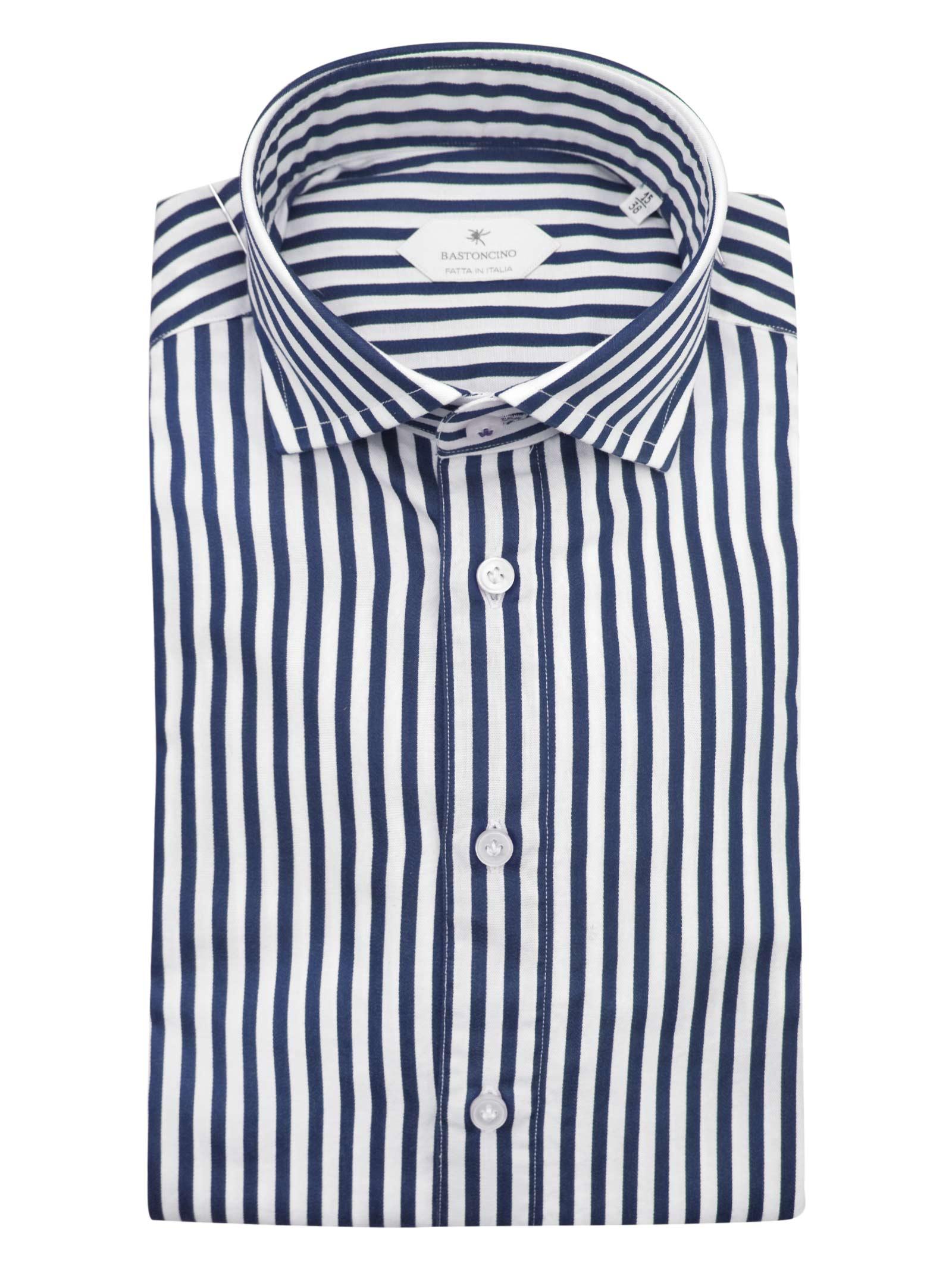 Camicia fantasia vestibilita leggermente slim BASTONCINO   Camicie   SIMOB1996 01