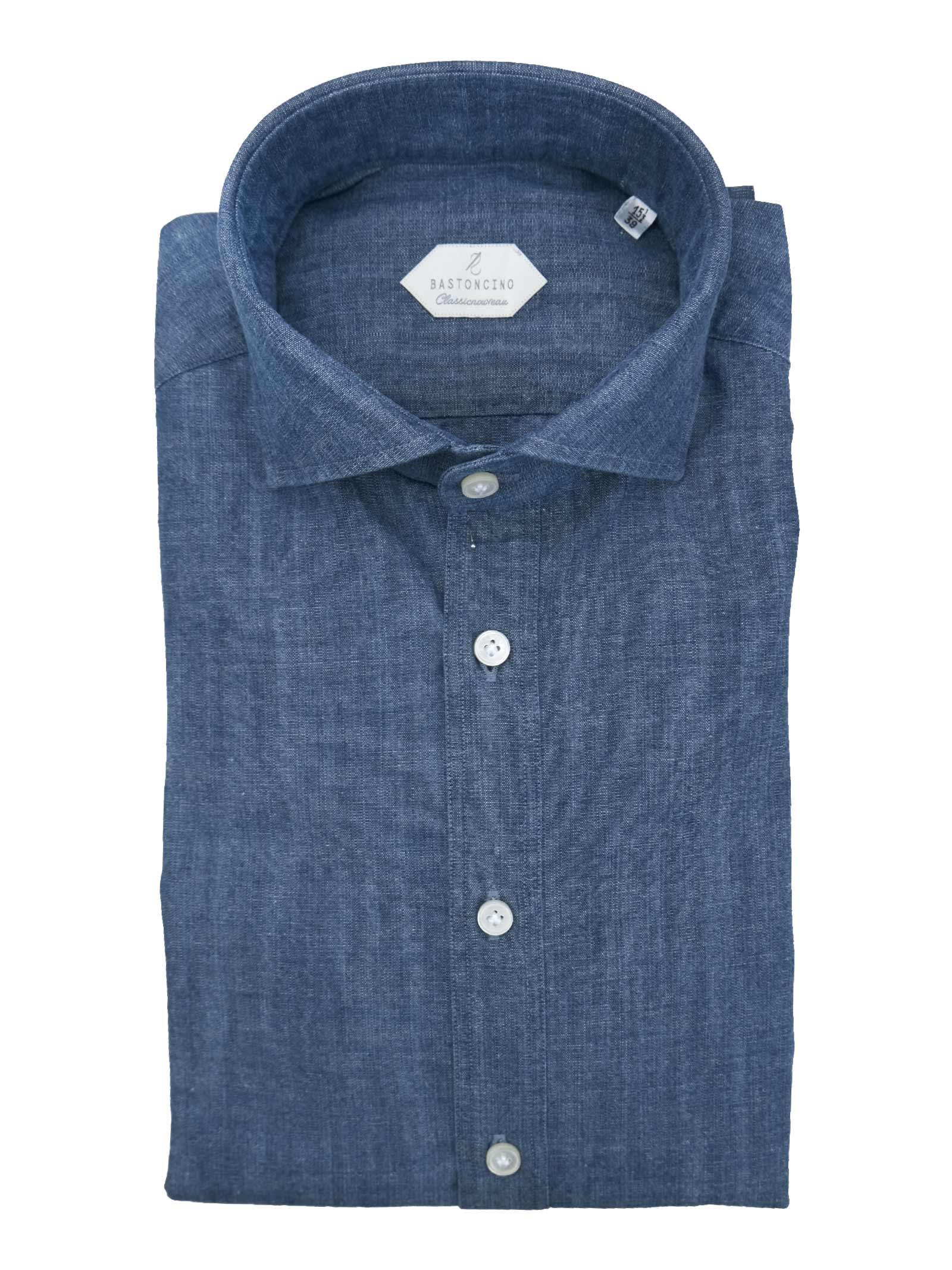 Camicia fantasia vestibilita leggermente slim BASTONCINO   Camicie   SIMOC101