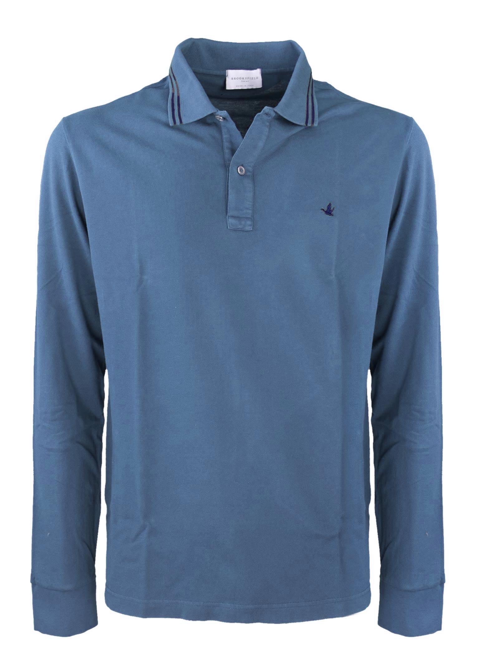 Polo shirt, long sleeves BROOKSFIELD | Polos | 201B.A0240079
