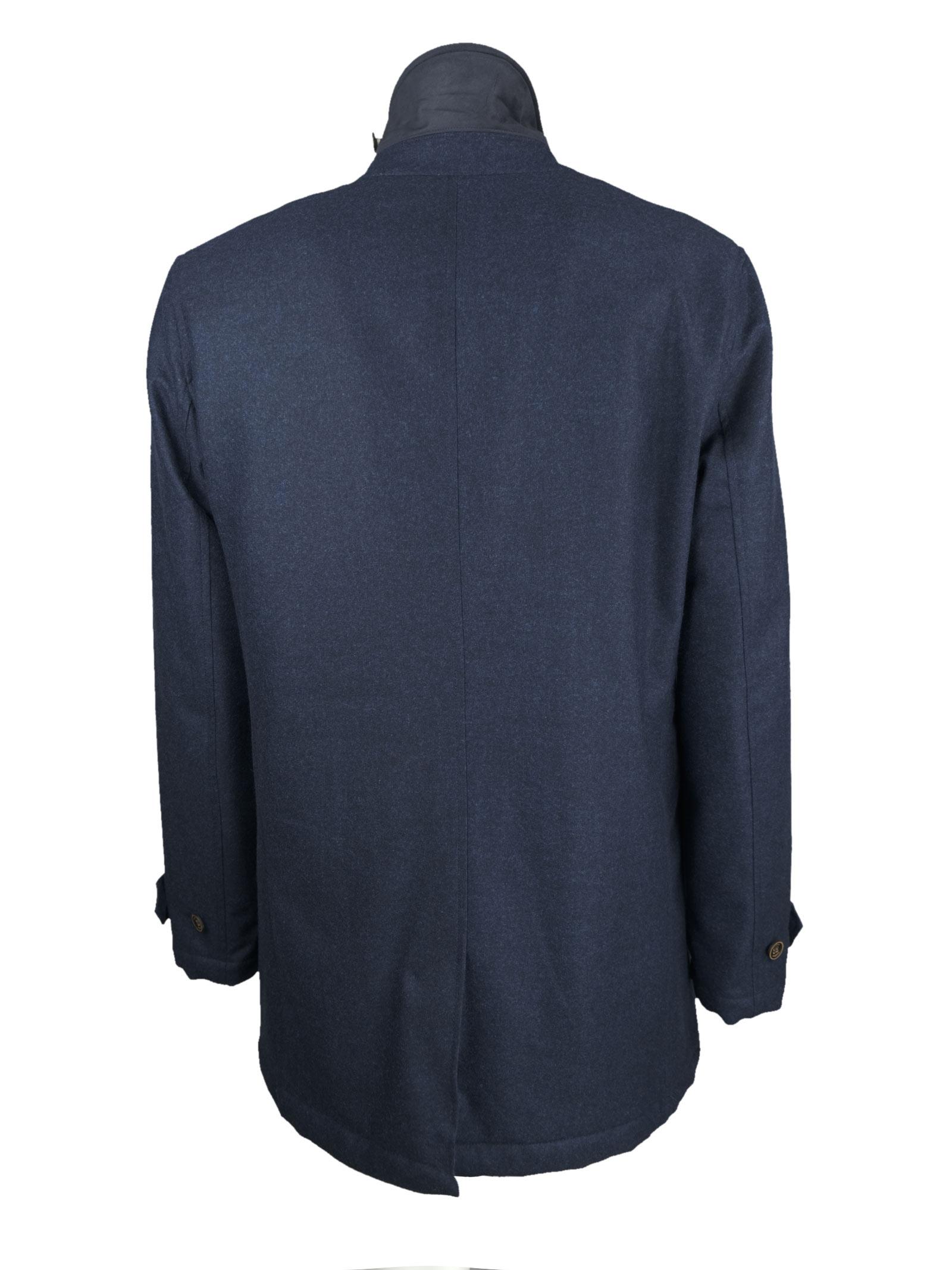 Giaccone in lana CAMPLIN | Giacconi | OVEUKLORO P. BLU
