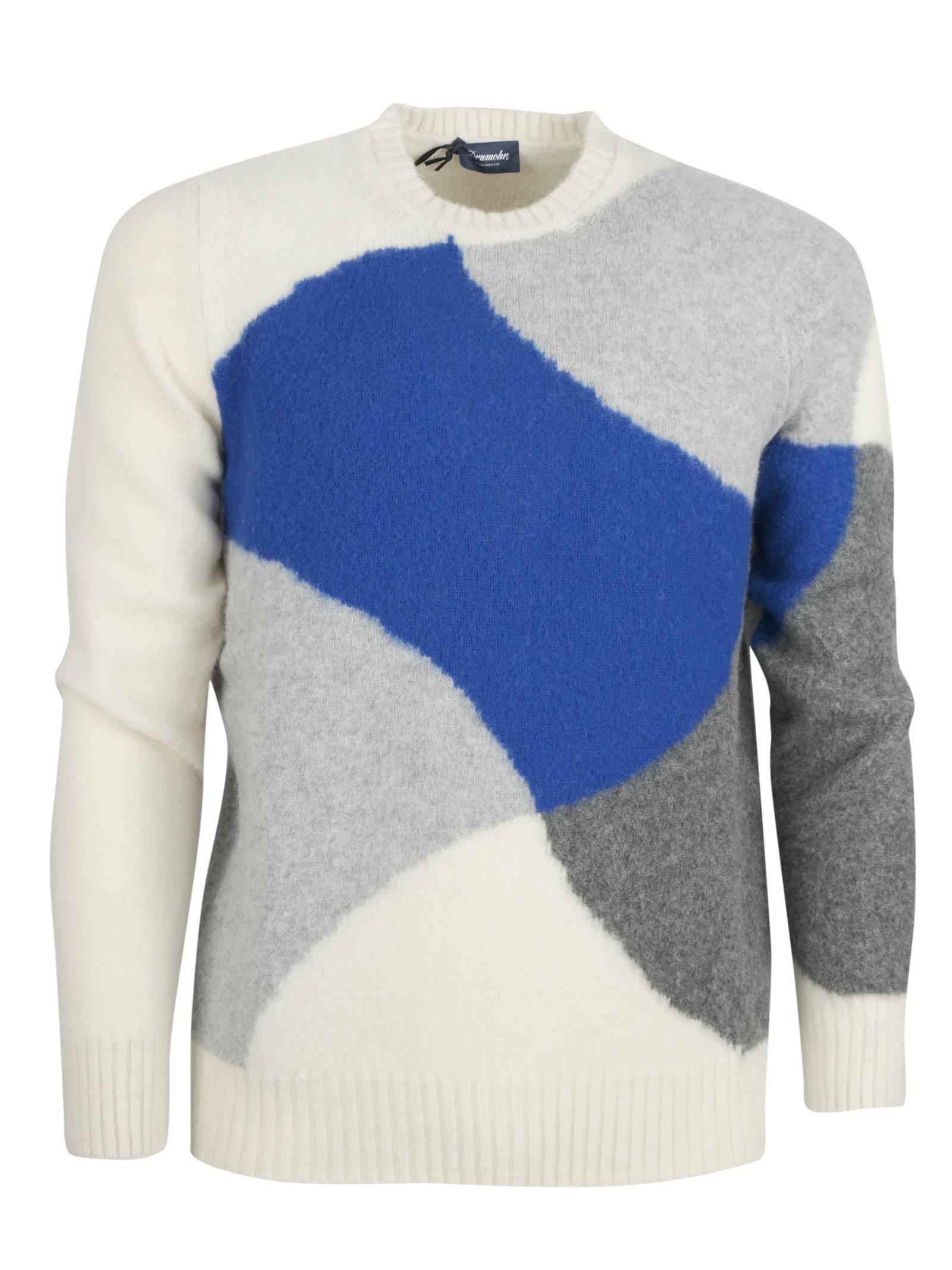 Crew neck lambswool sweater DRUMOHR | Knitwear | D8W103BI003