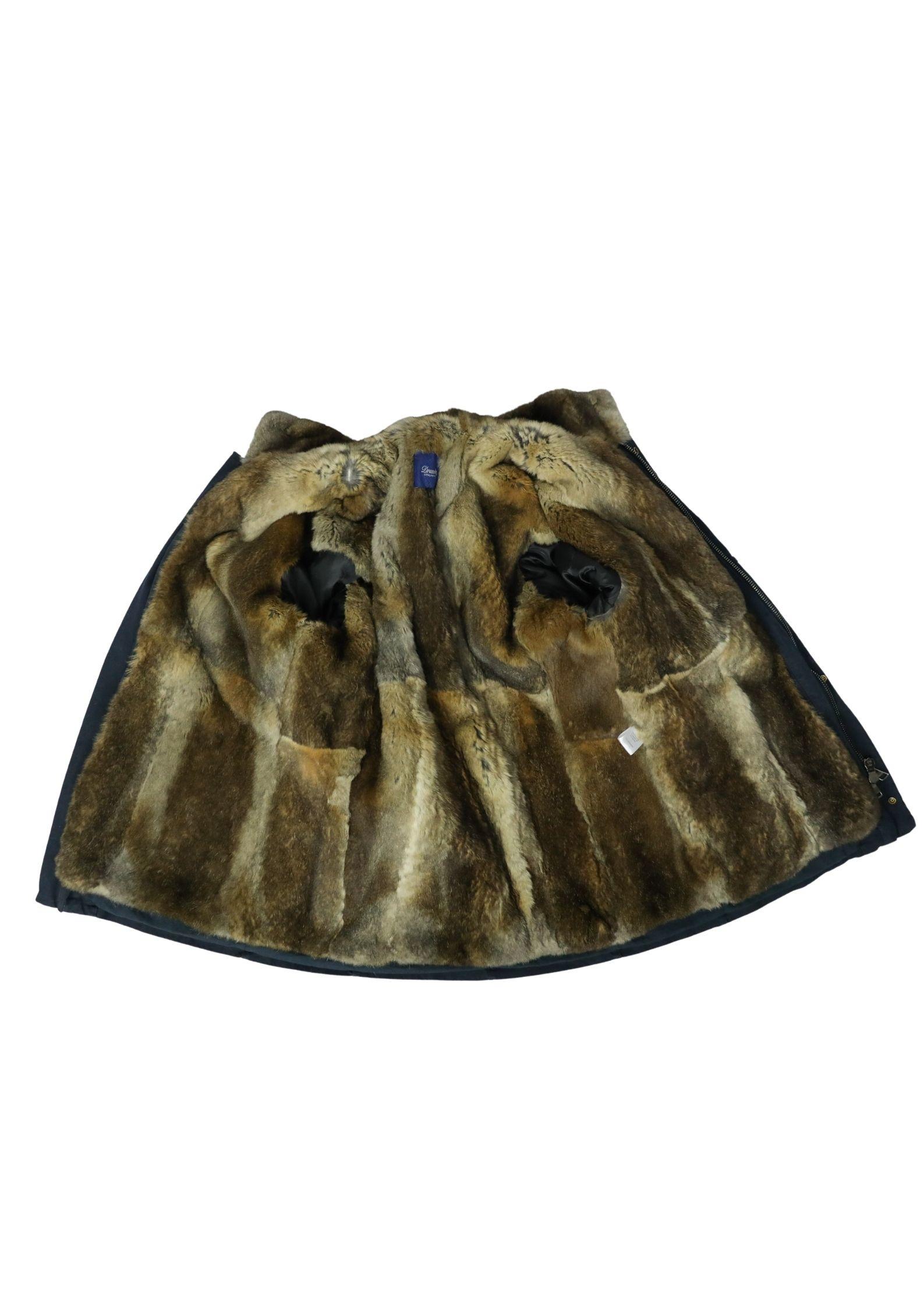 Field jacket in cotone con interno staccabile in lapin DRUMOHR | Maglieria | DJ100FJZ790