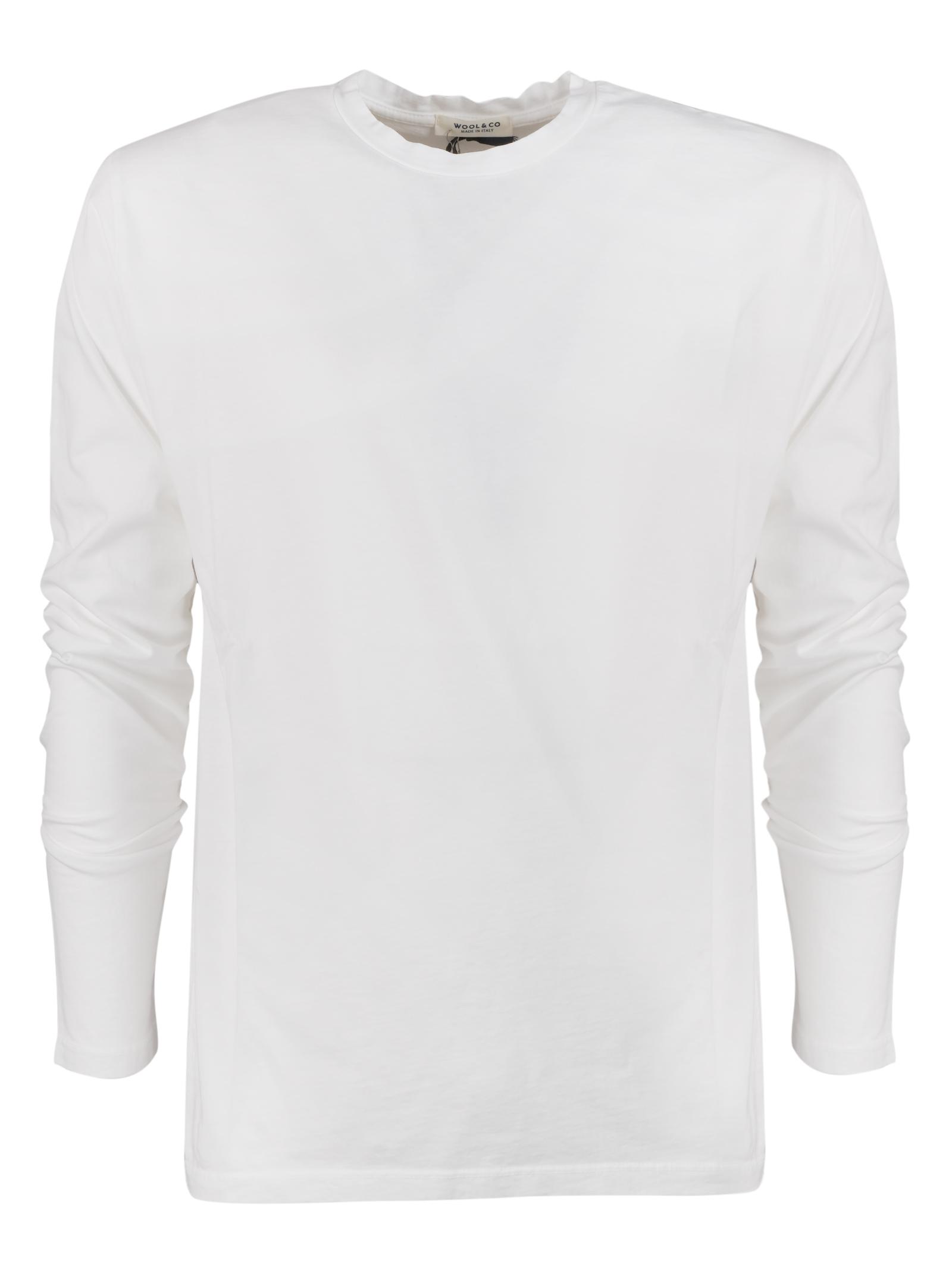 t-shirt manica lunga WOOL & CO.   T- shirt   082601