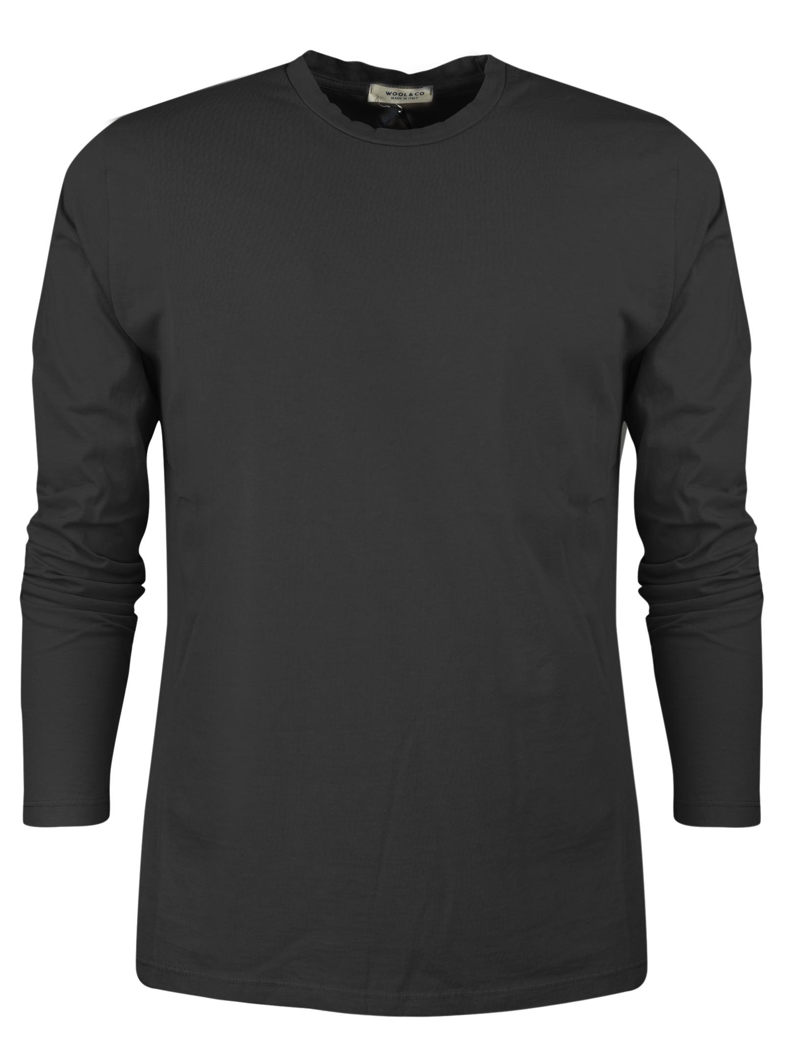 t-shirt manica lunga WOOL & CO.   T- shirt   082610