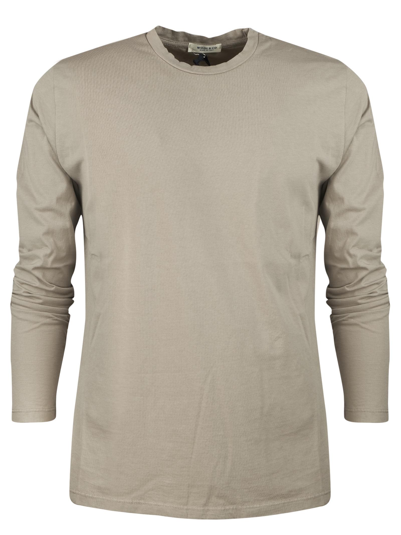 t.shirt long  sleeves WOOL & CO. | T-shirts | 082631