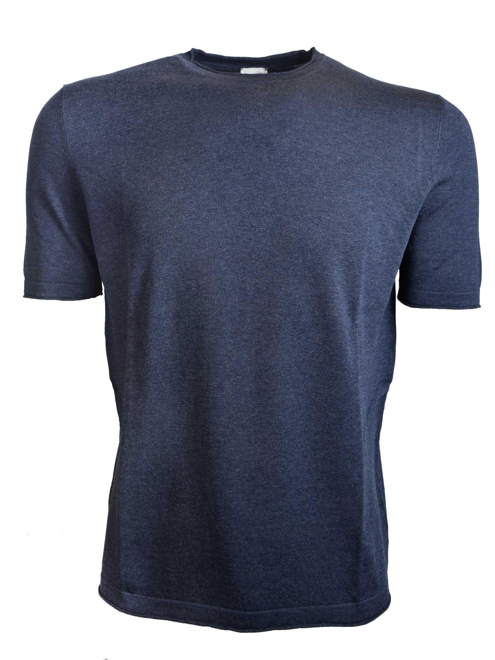 T-SHIRT IN SETA LAVATA H953 | T- shirt | 280392