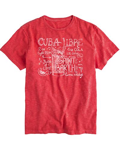 T.SHIRT MC2  SAINT BARTH   T- shirt   SKYLARCBLI41
