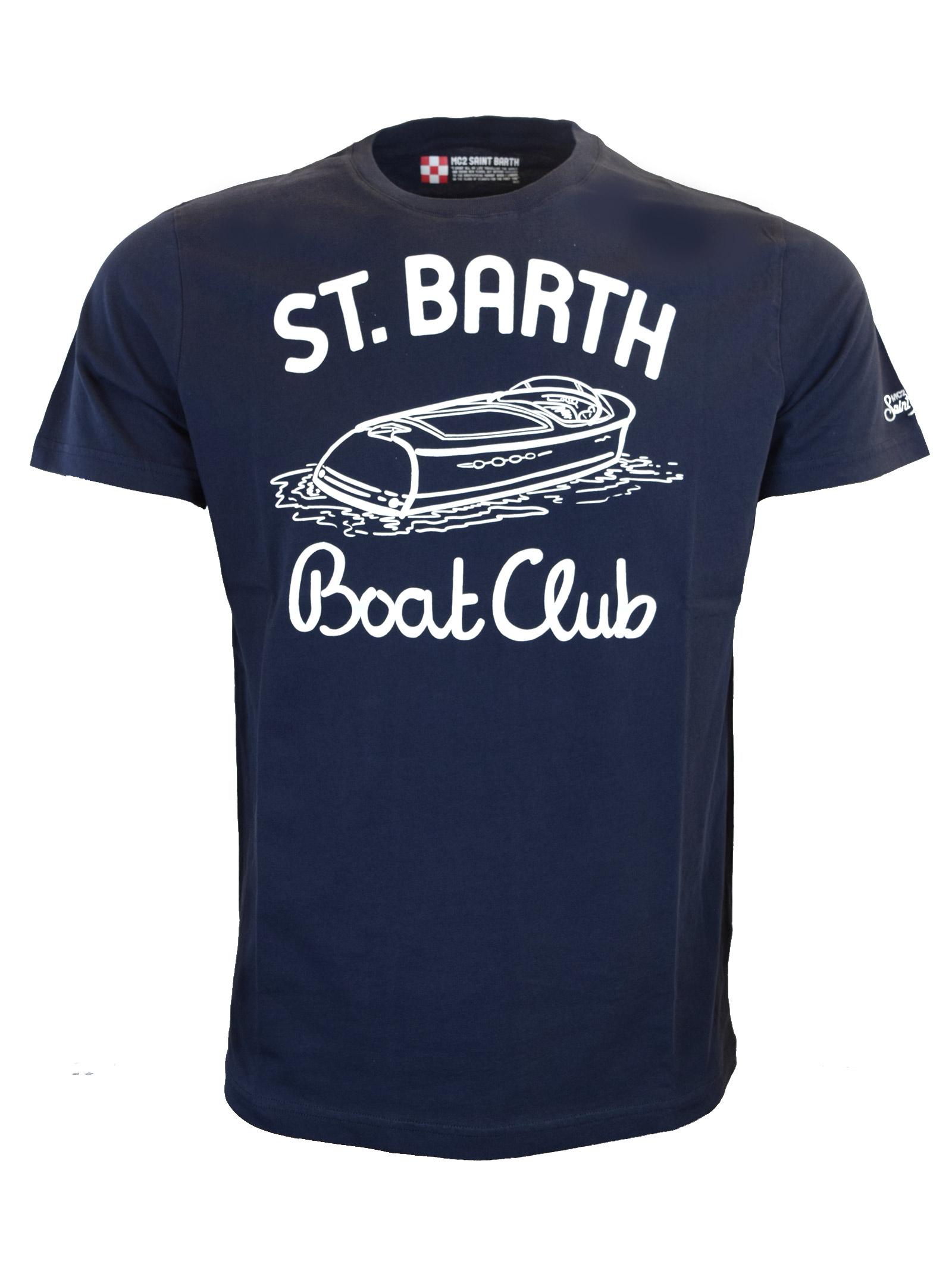 T-SHIRT CON STAMPA MC2  SAINT BARTH | T- shirt | T-SHIRT MANCLBT61