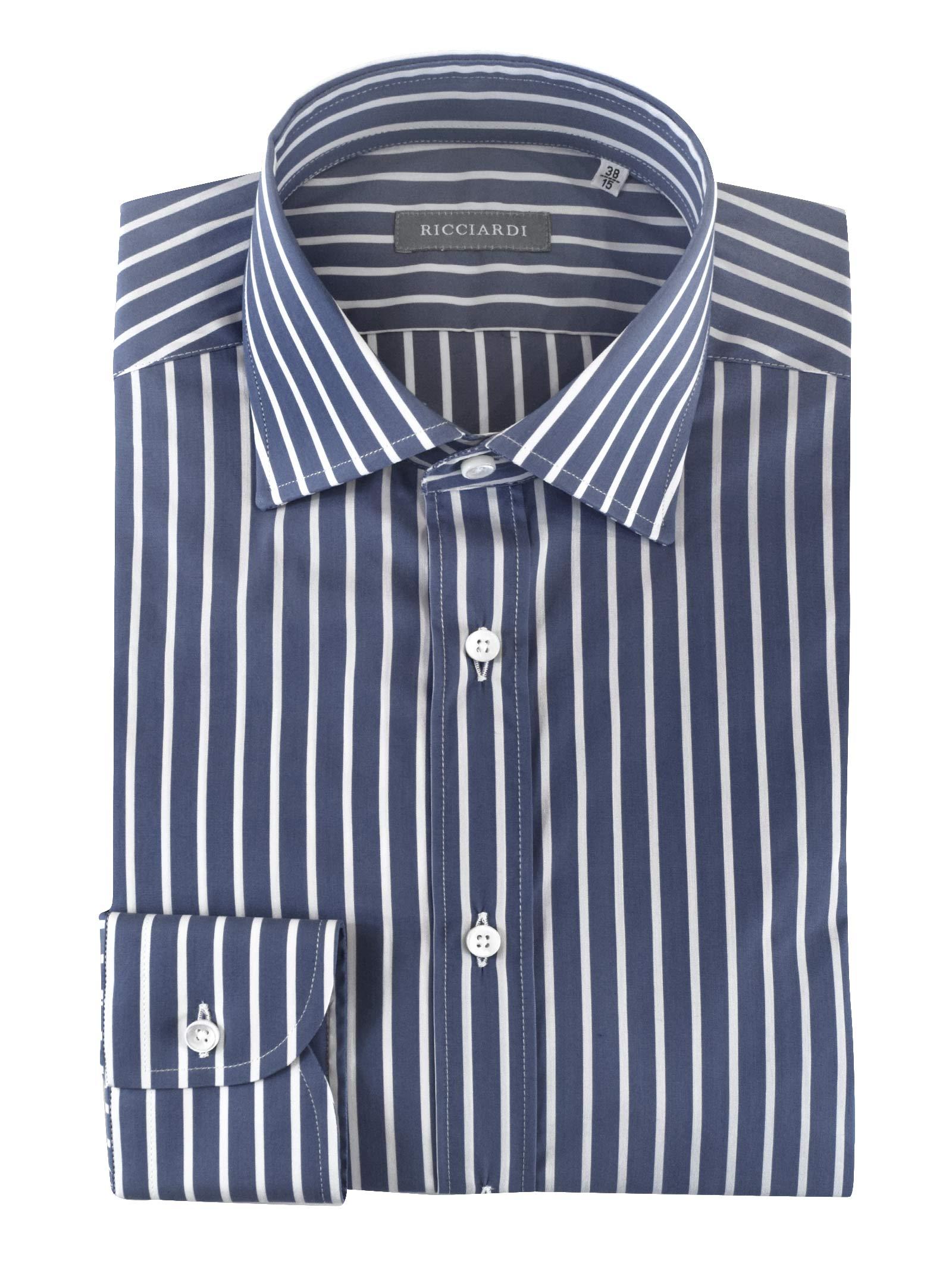 Classica classica vestibilità SLIM RICCIARDI   Camicie   ADAMO1693
