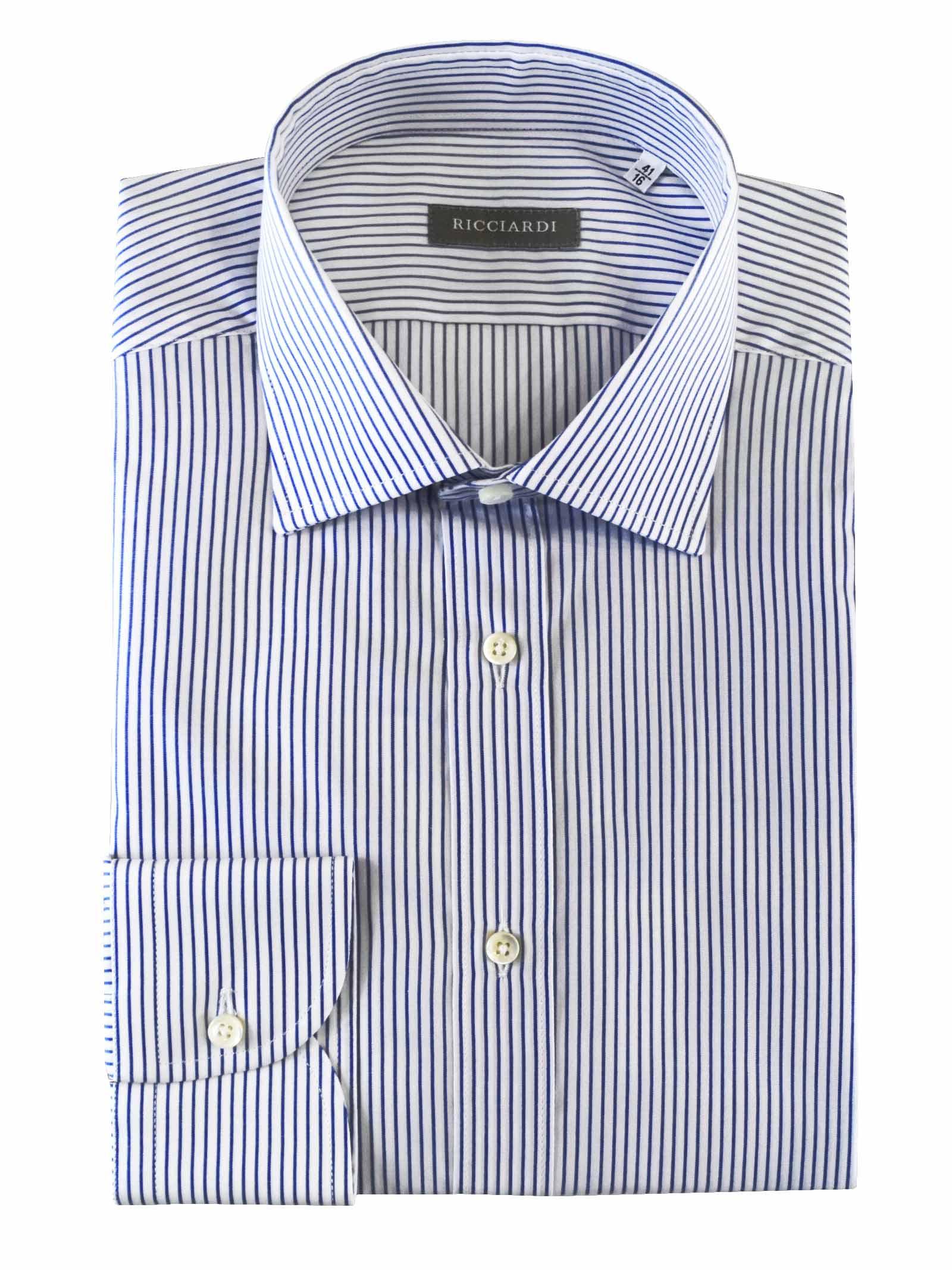 Classica classica vestibilità SLIM RICCIARDI | Camicie | ADAMO2026