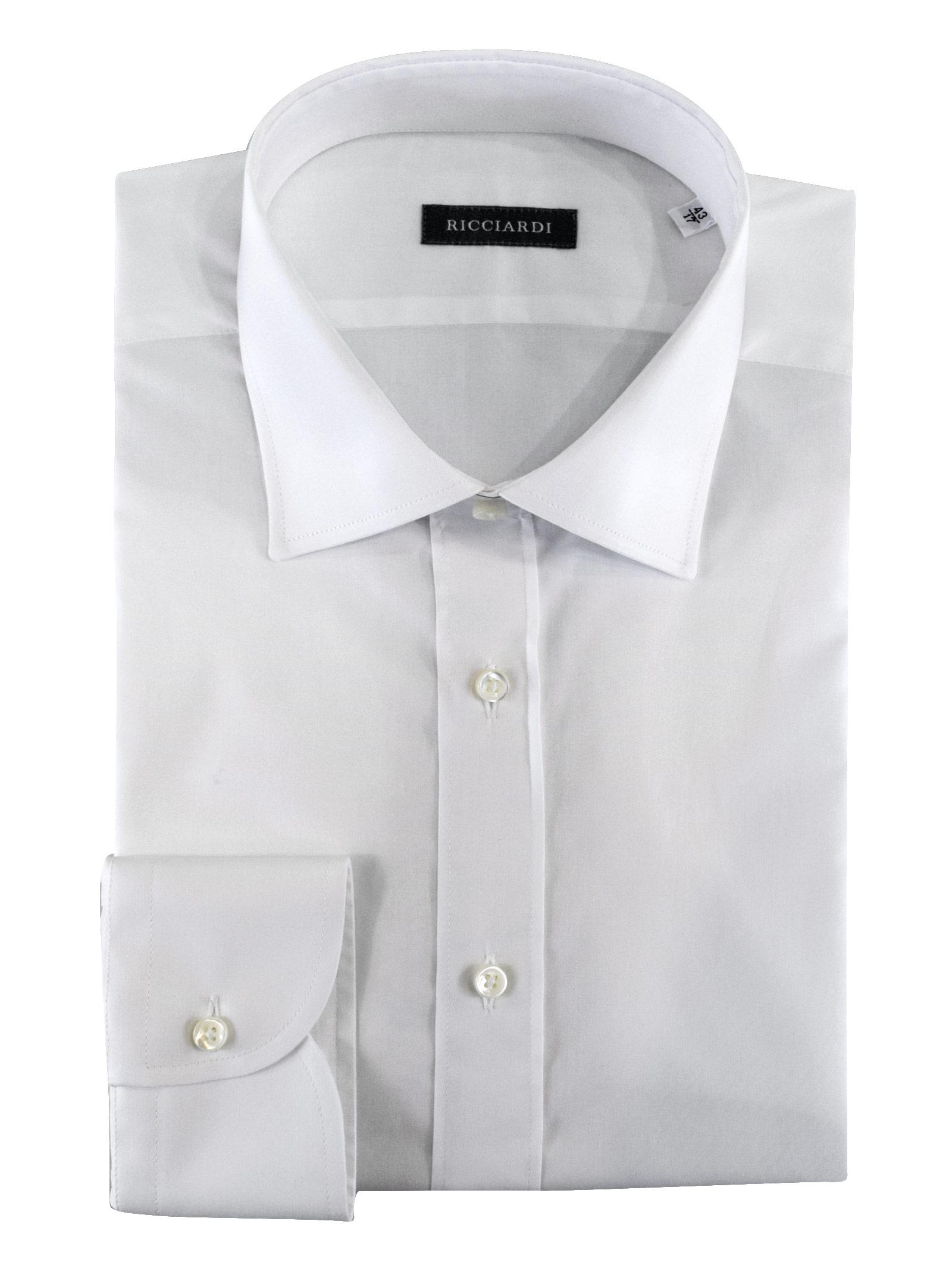 Classica classica vestibilità SLIM RICCIARDI   Camicie   ADAMO2114