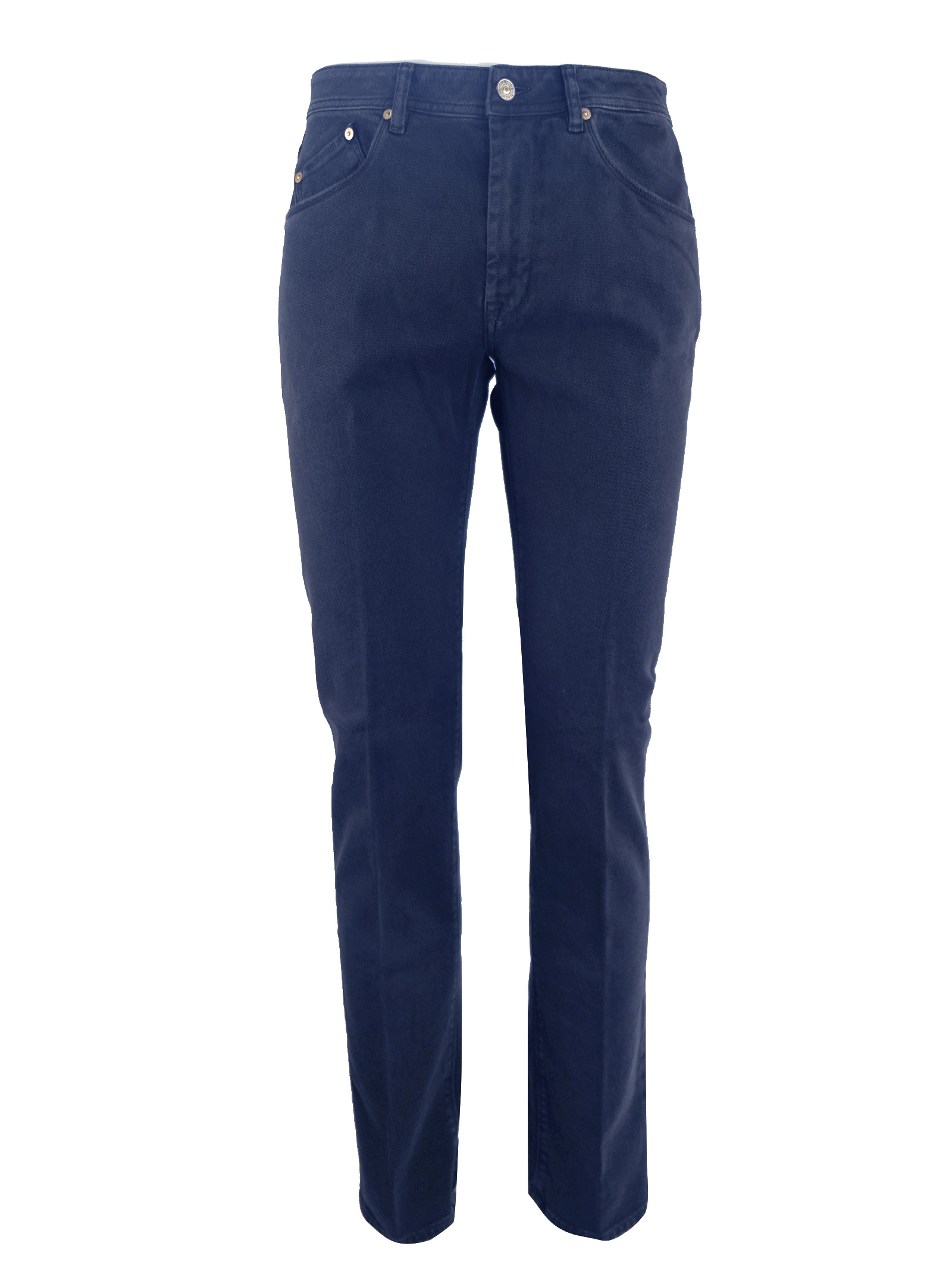 PANTALON 5 TASCHE IN BULL PIGMENTATO BARMAS | Jeans | DEAN B319 T03260