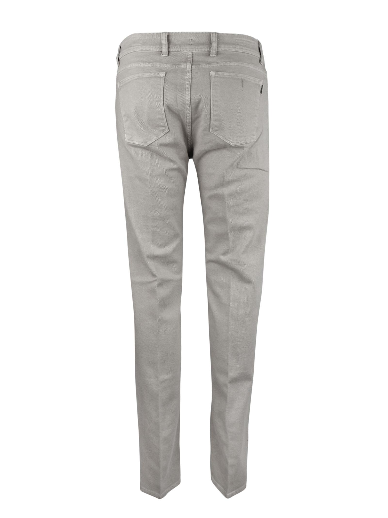 PANTALONI 5 TASCHE IN BULL PIGMENTATO BARMAS | Jeans | DEAN B319 T0335
