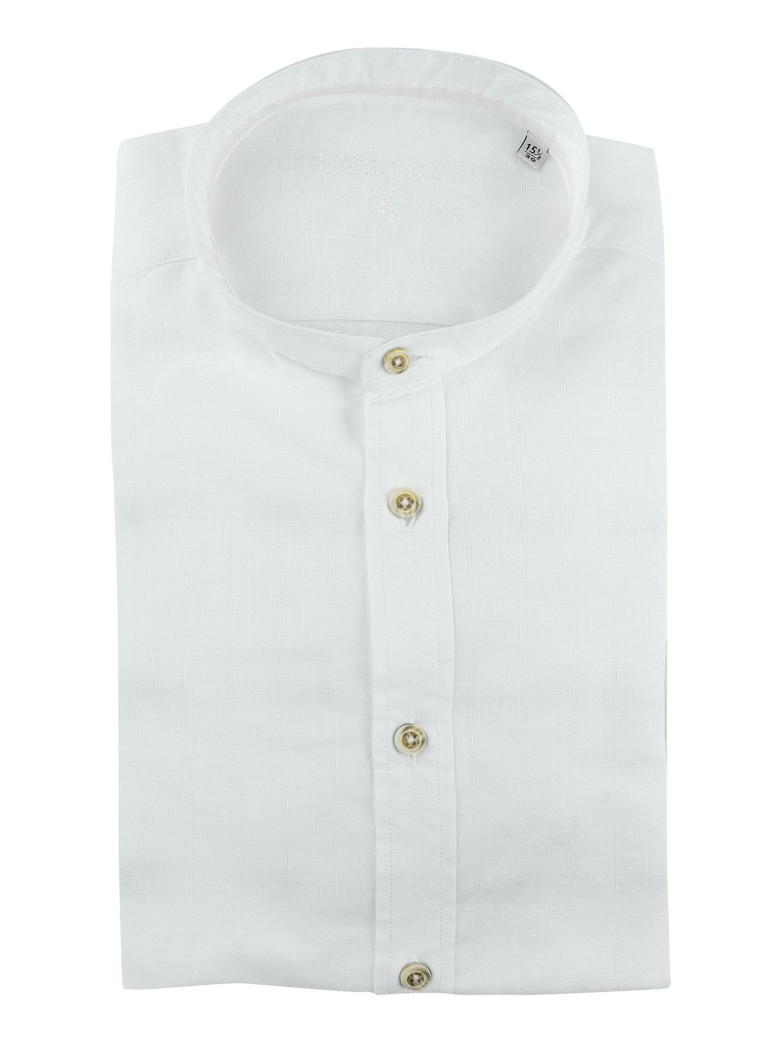 Camicia slim collo coreano BASTONCINO   Camicie   SIMO CORE1808