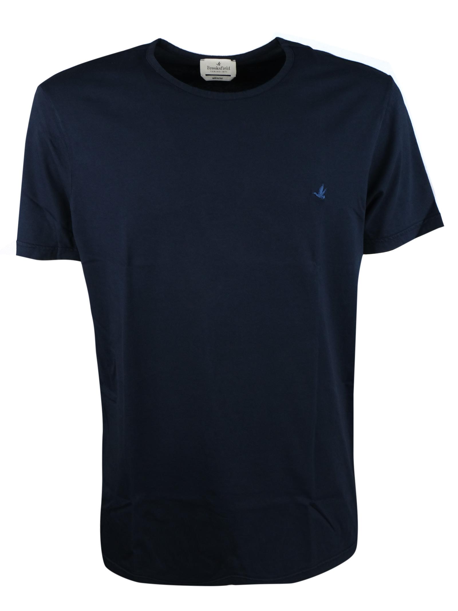 T-shirt tinta unita in cotone. BROOKSFIELD   T- shirt   200A.J0529608