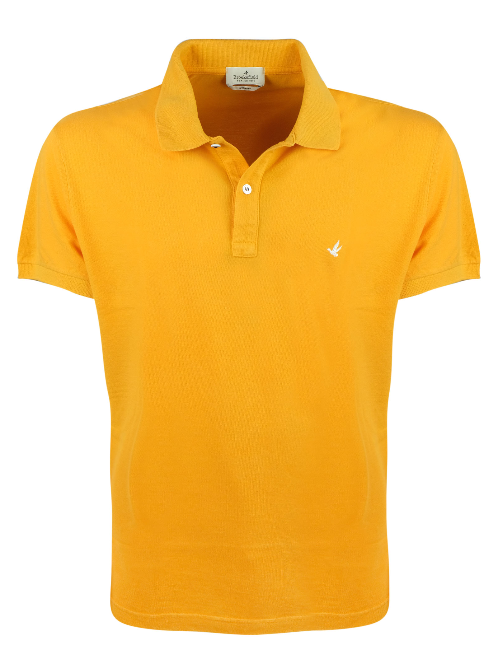Solid color short sleeves polo BROOKSFIELD | Polos | 201A.A0320746