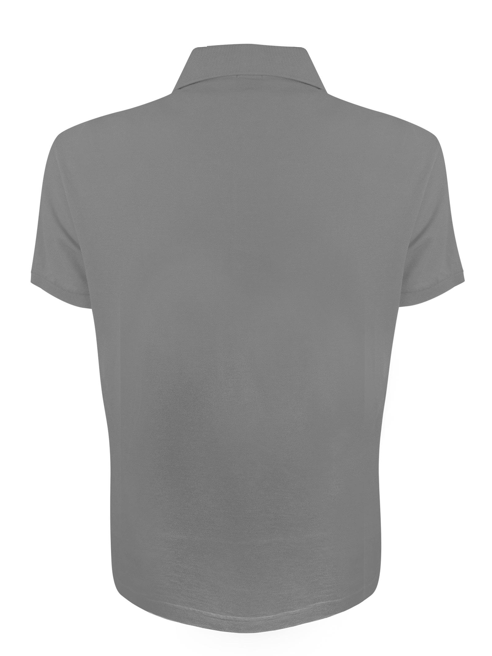 Polo maniche corte tinta unita in cotone BROOKSFIELD | Polo | 201A.A0327276