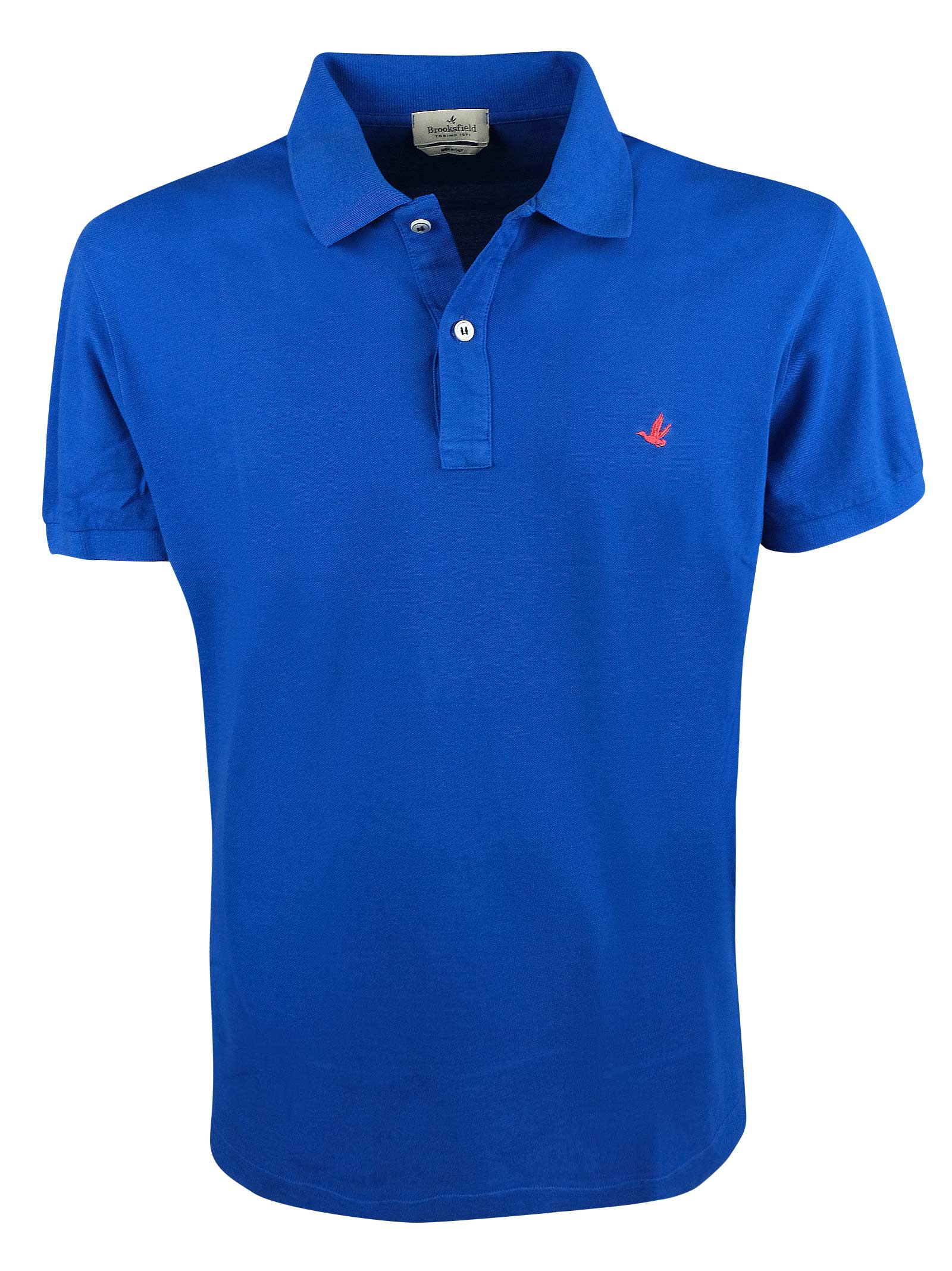 Solid color short sleeves polo BROOKSFIELD | Polos | 201A.A0327284