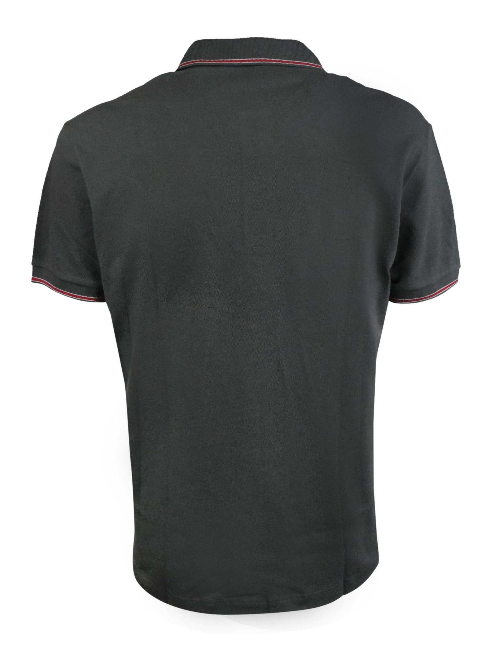 Polo tinta unita stretch con profili in contrasto BROOKSFIELD | Polo | 201A.B0020127