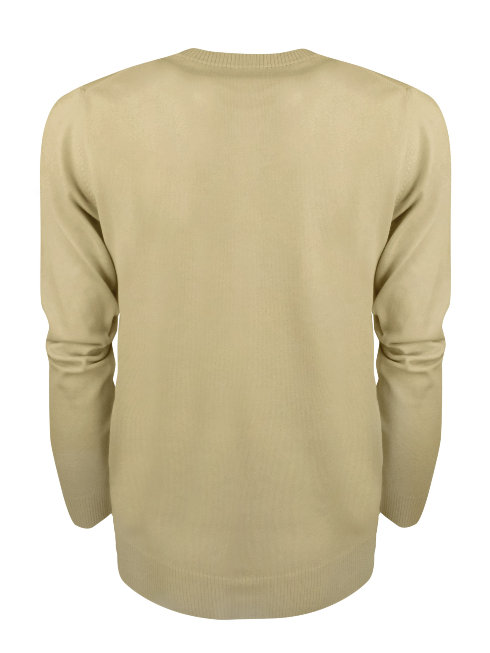 Maglia girocollo in cotone , logo in contrasto . BROOKSFIELD | Maglieria | 203E.A0210796