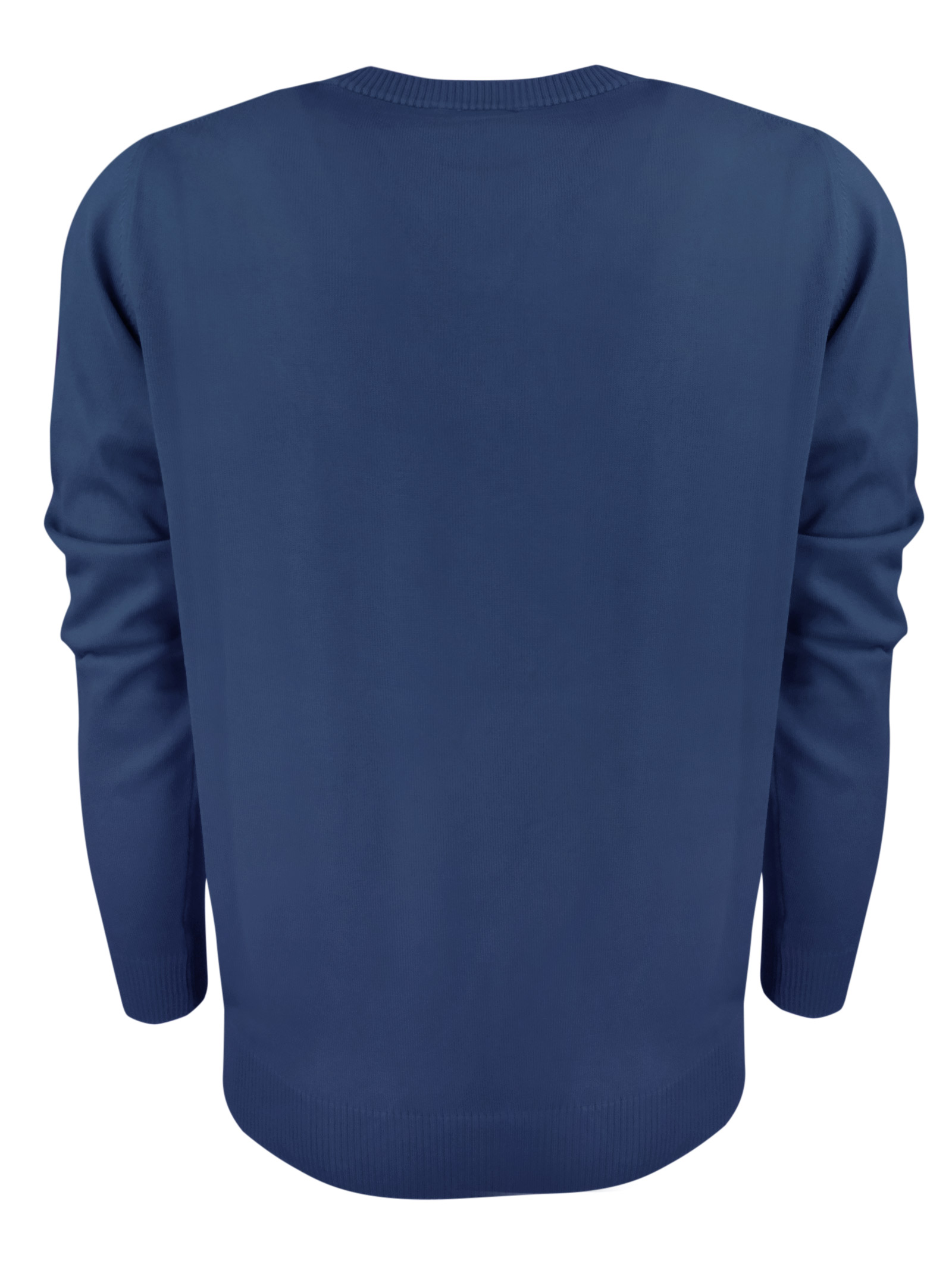 Maglia girocollo in cotone , logo in contrasto . BROOKSFIELD   Maglieria   203E.A0217274