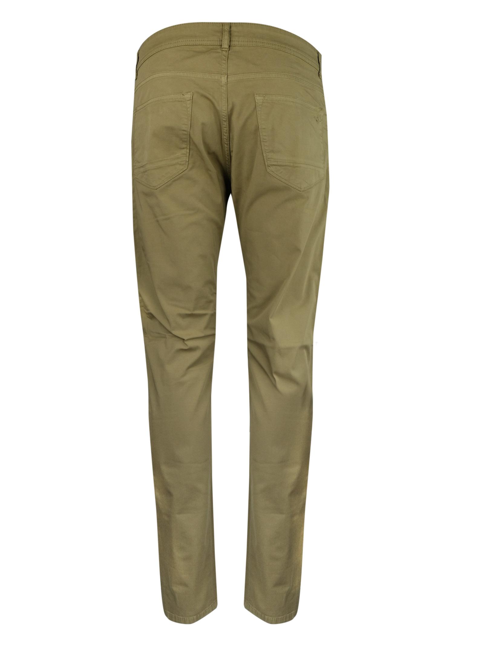 Pantaloni 5 tasche in cotone leggero, BROOKSFIELD | Pantaloni | 205D.C0687273