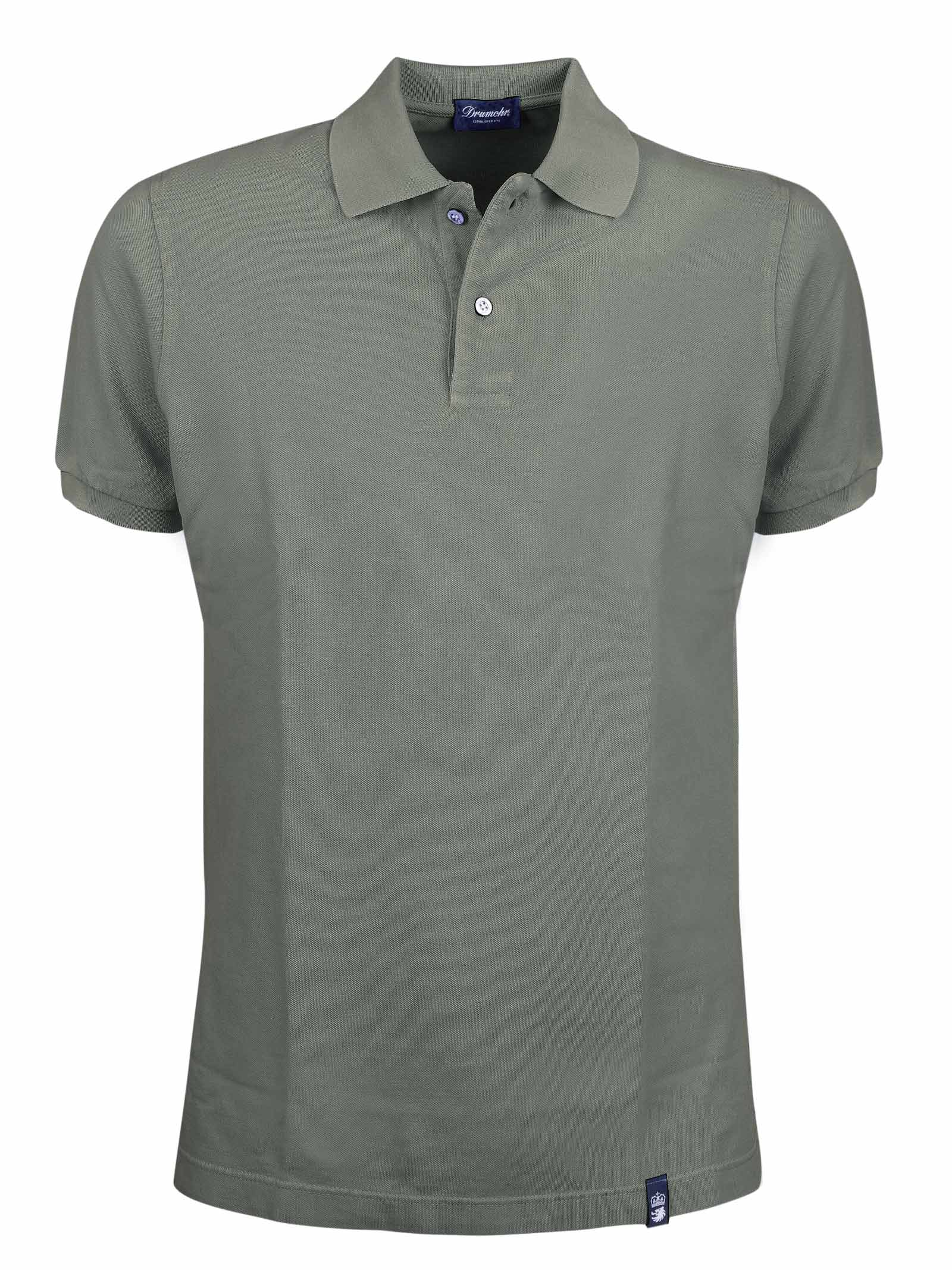 Two buttons short sleeves polo DRUMOHR | Polos | DTS612480