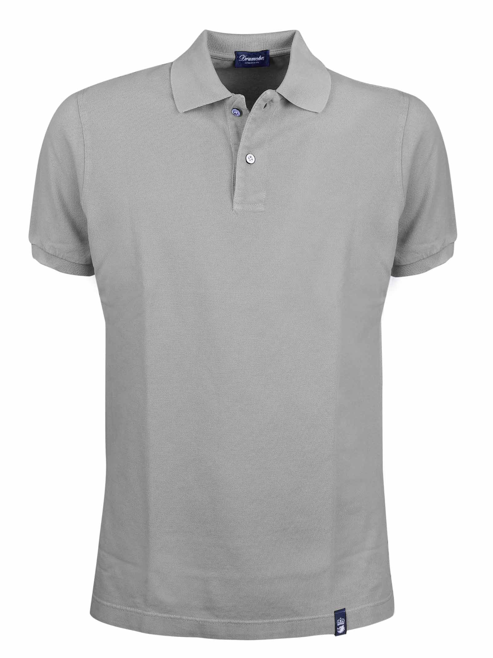 Two buttons short sleeves polo DRUMOHR   Polos   DTS612630