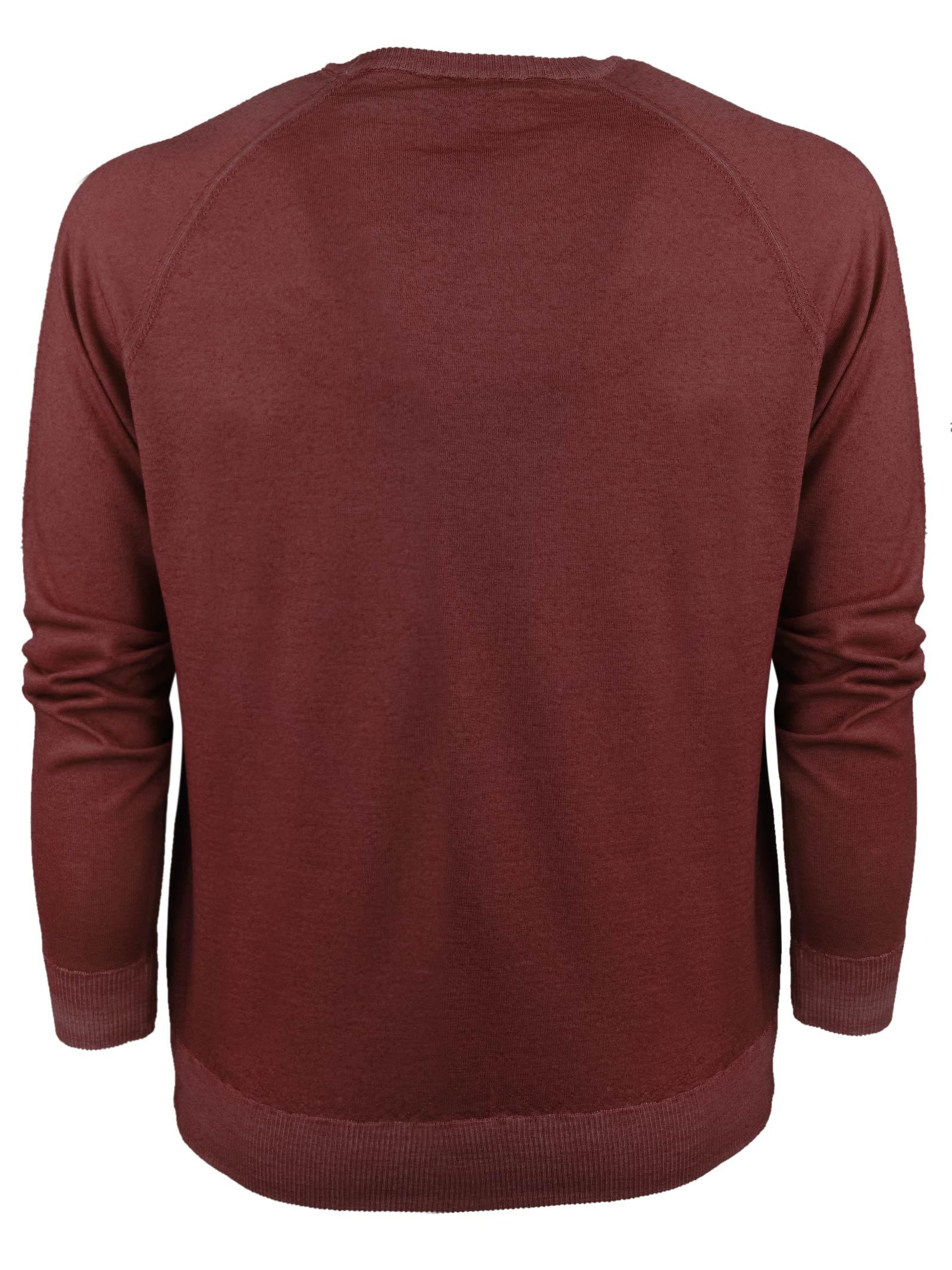Pullover in lana merino modello felpa H953 | Maglieria | 317151
